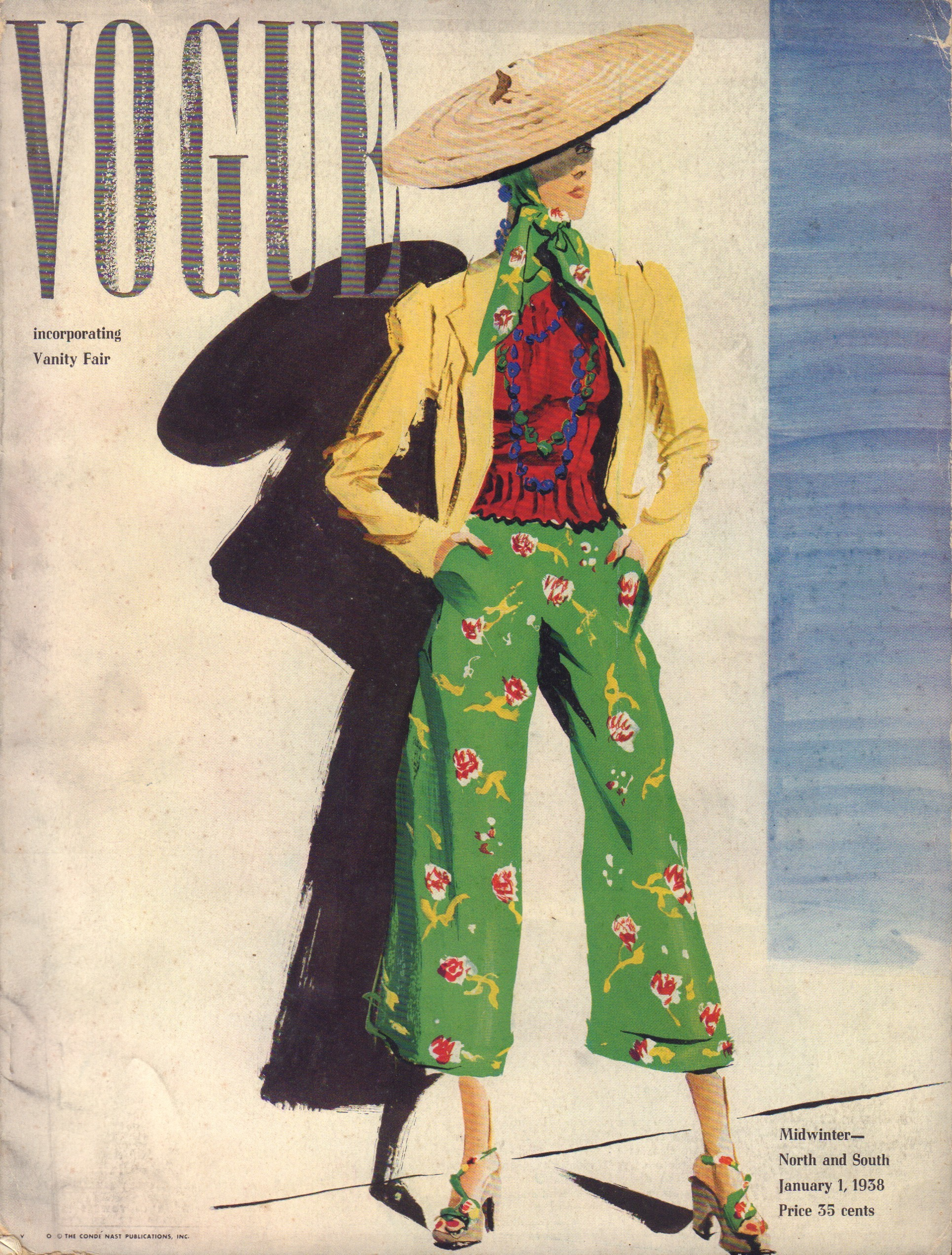 Image for Vogue January 1, 1938