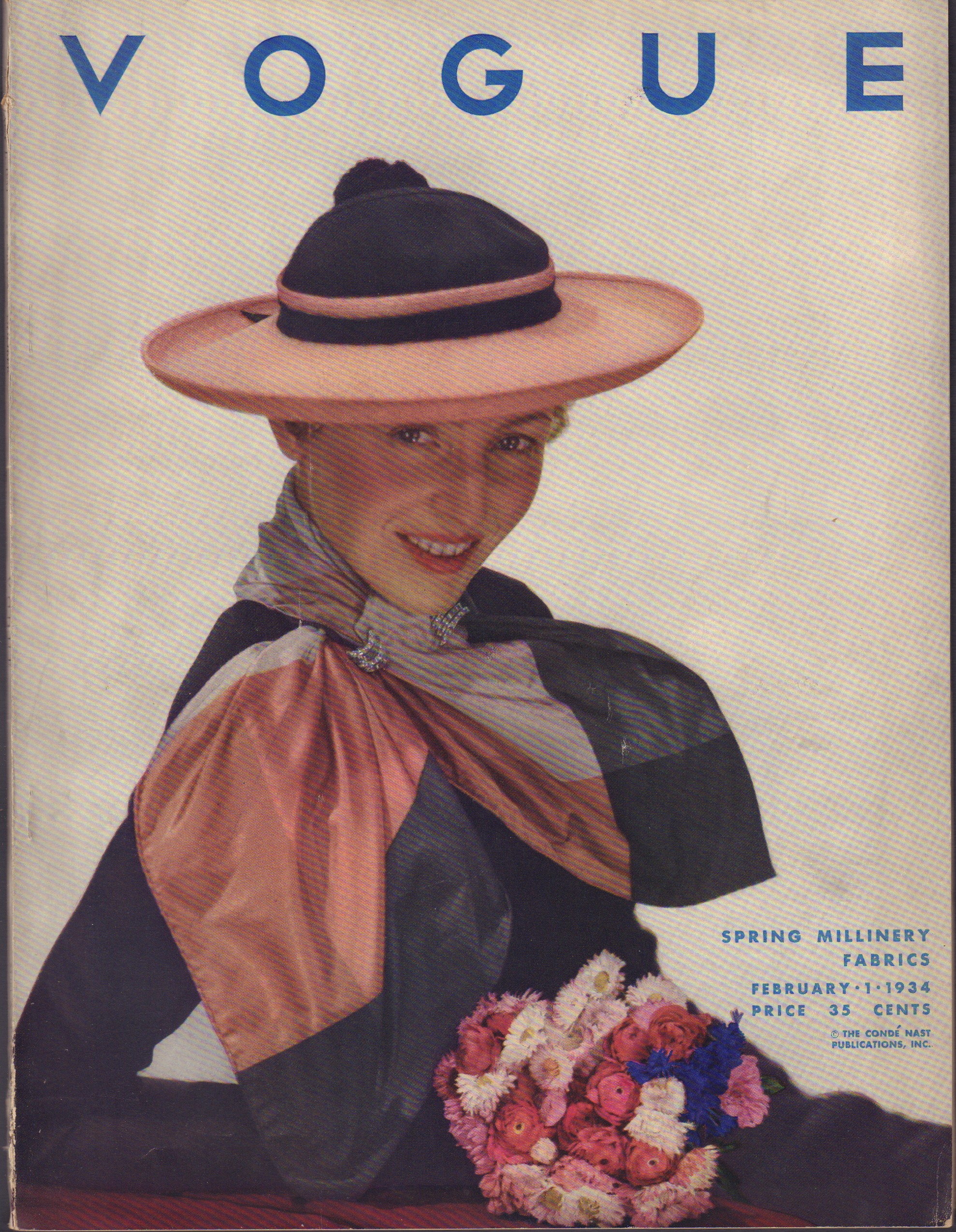 Image for Vogue, February 1, 1934.