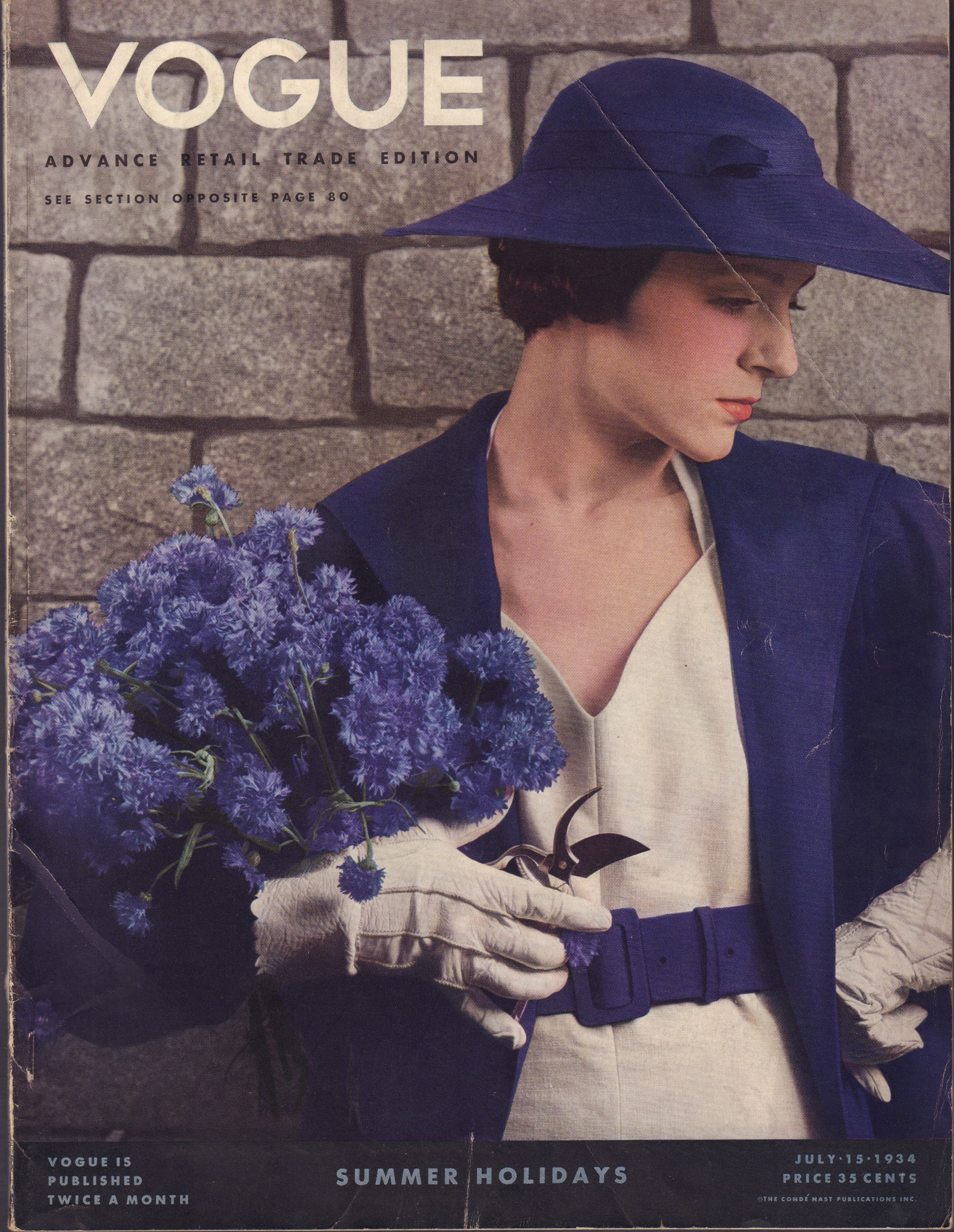 Image for Vogue, July 15, 1934.
