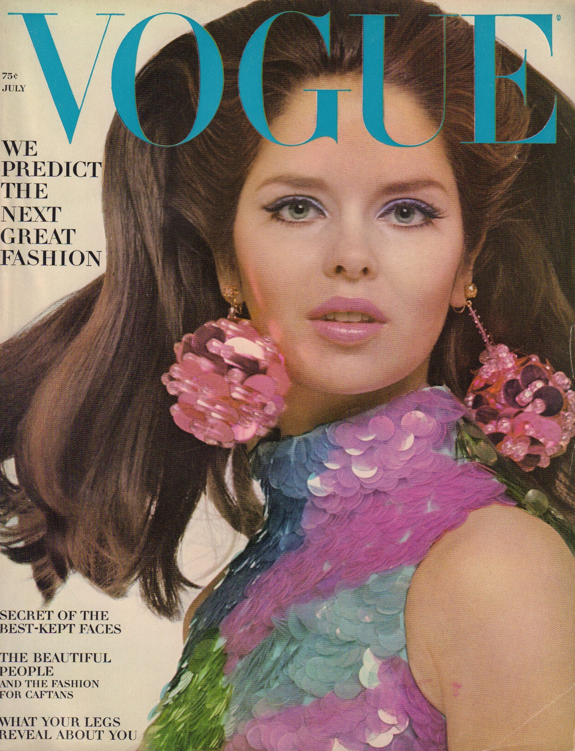 Image for Vogue July 1966