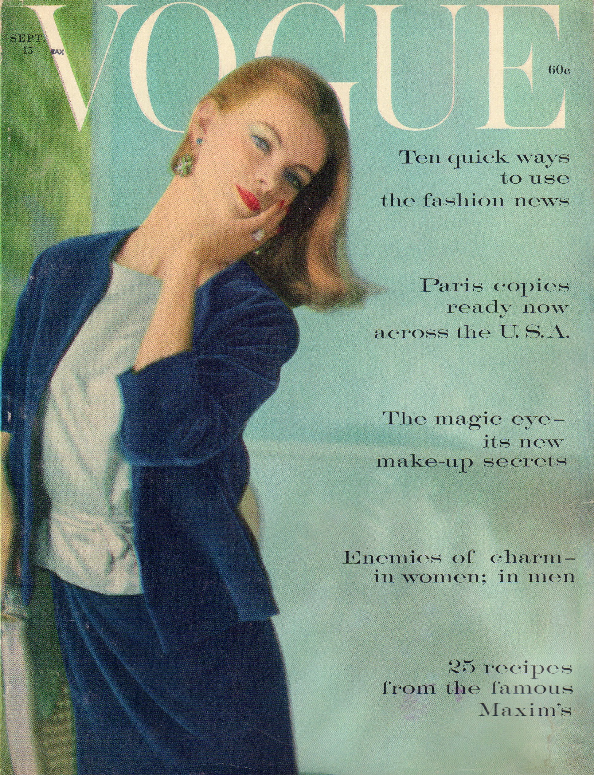 Image for Vogue September 15, 1959