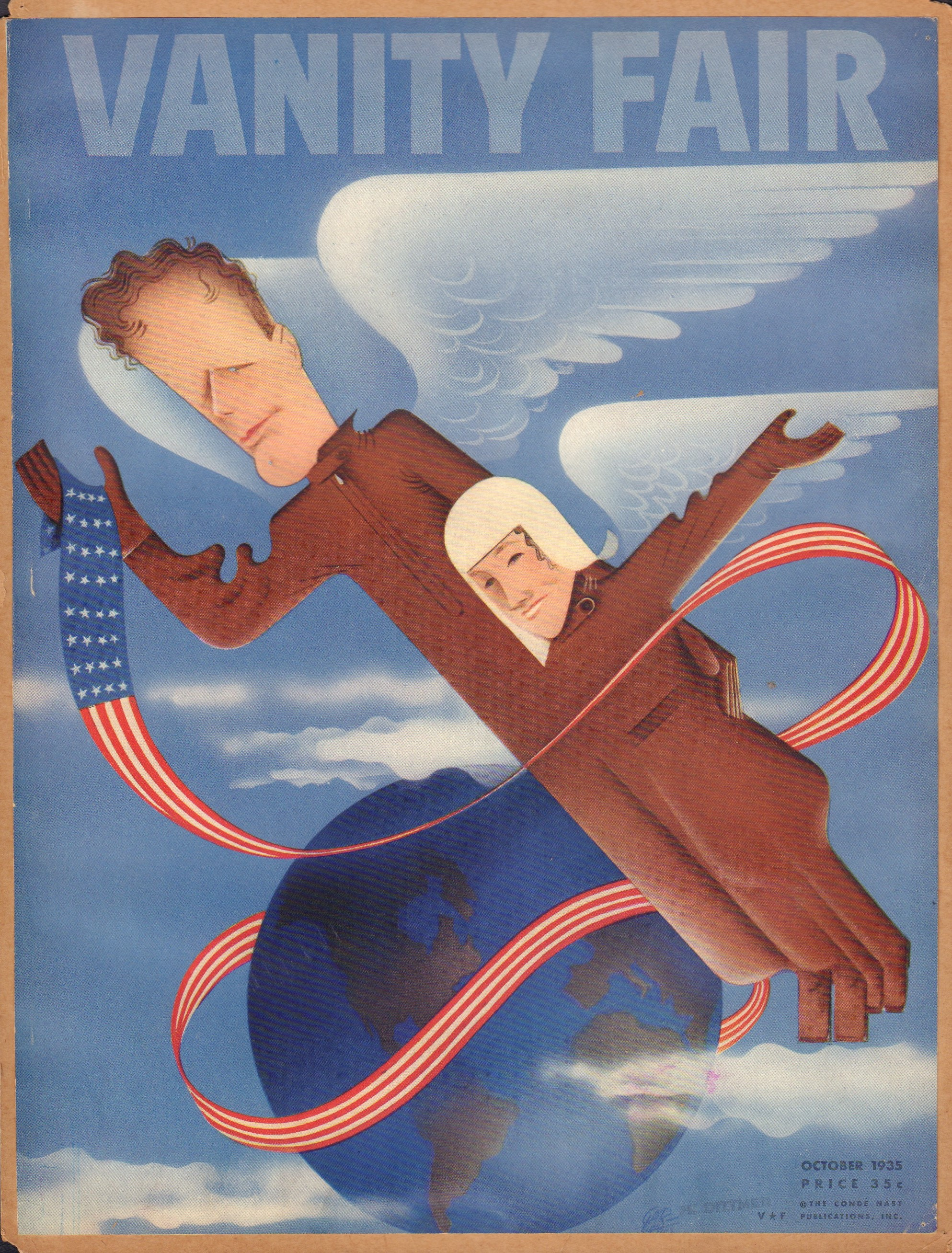 Image for Vanity Fair October 1935 (Cover Only)