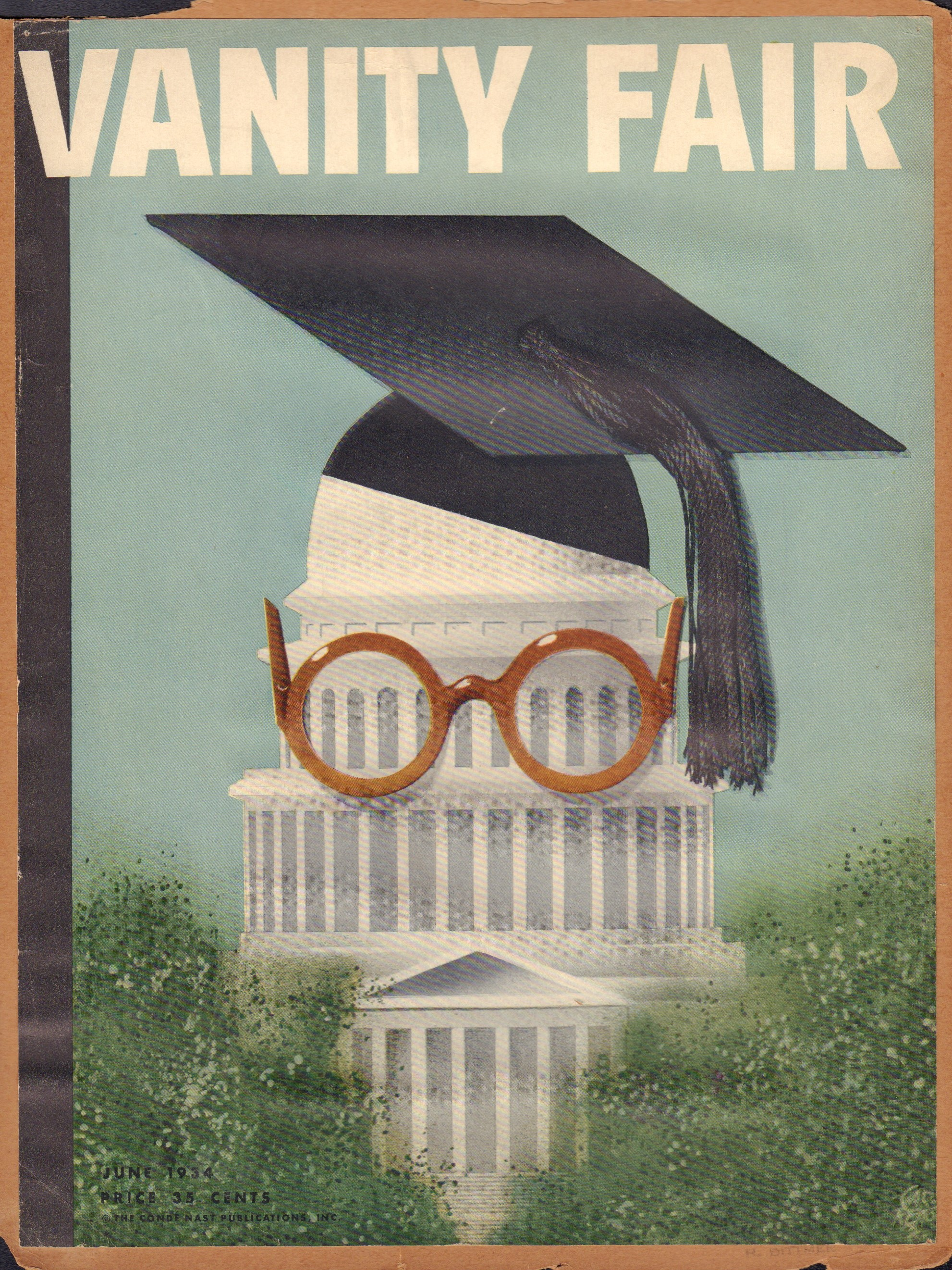 Image for Vanity Fair June 1934 (Cover Only)