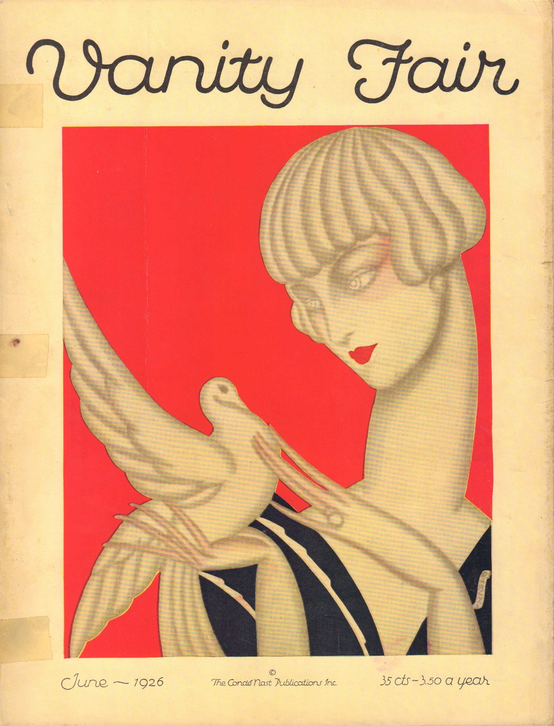 Image for Vanity Fair. June 1926. Cover by Jacques Darcy.