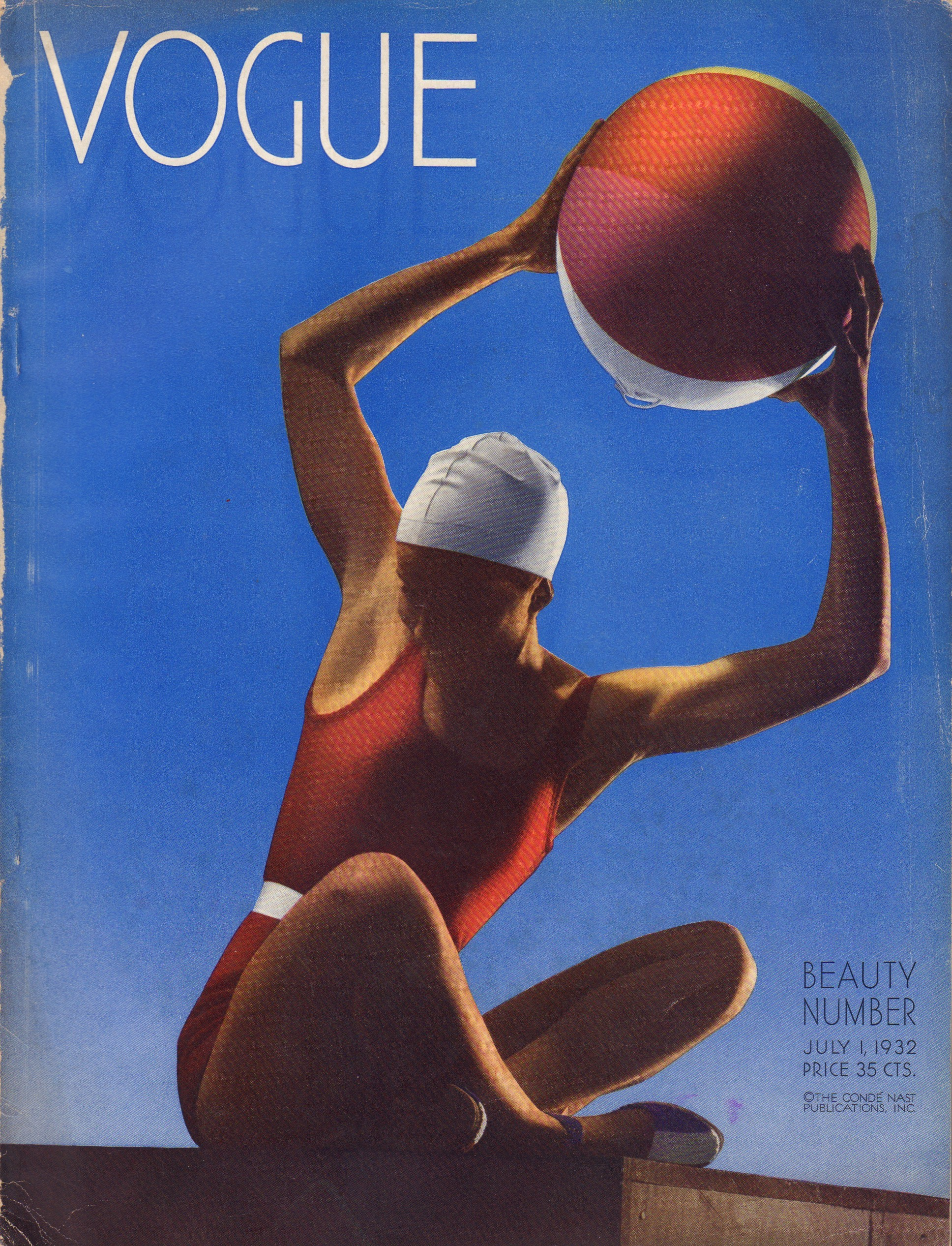 Image for Vogue. July 1, 1932. Illustrated by Steichen.