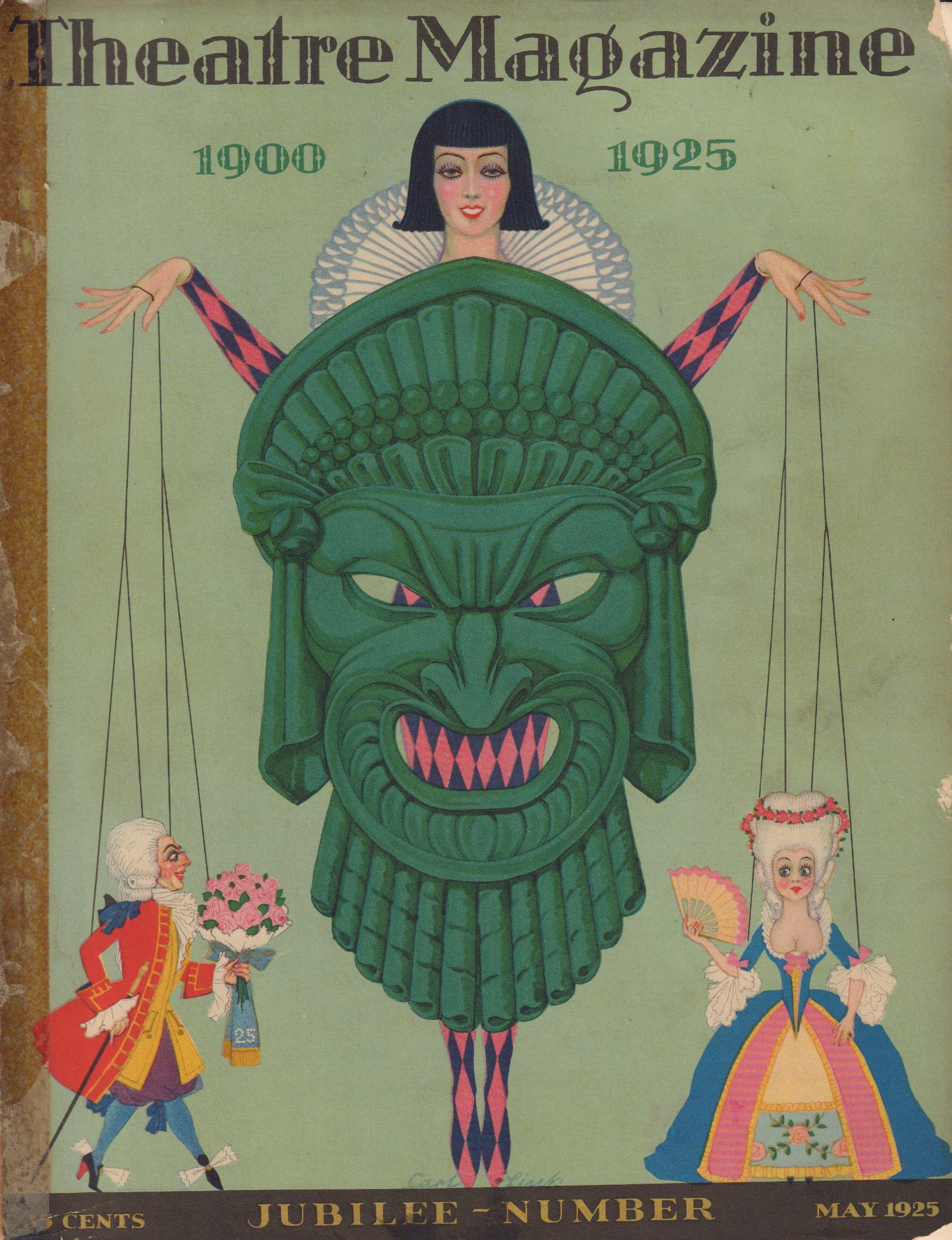 Image for Theatre Magazine. May 1925.