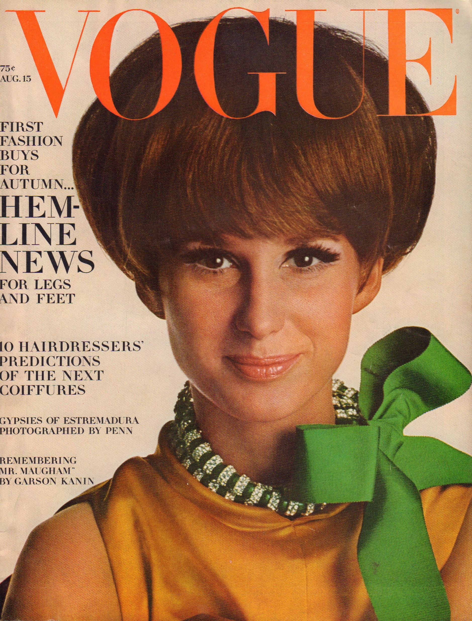 Image for Vogue August 15, 1966