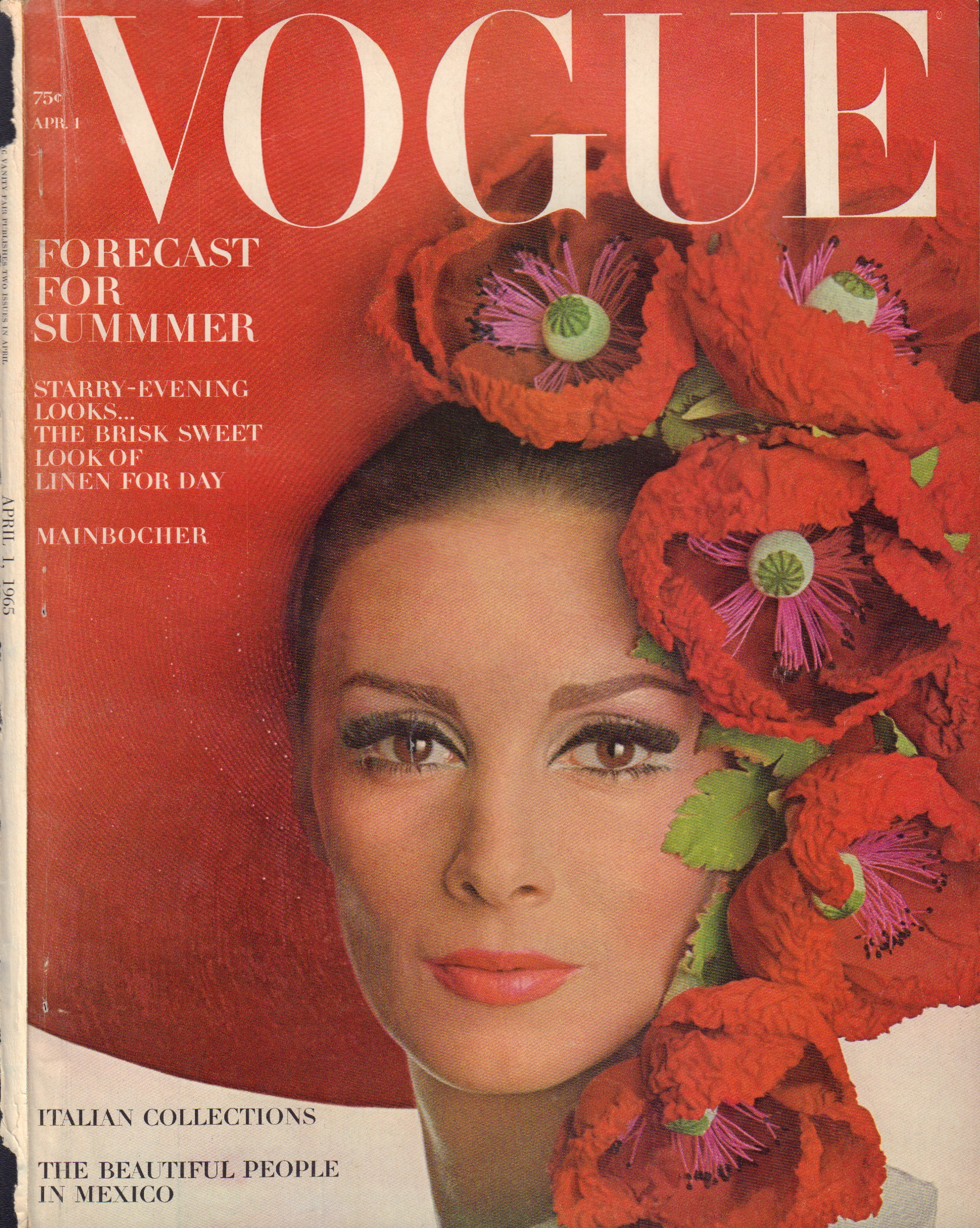 Image for  Vogue April 1, 1965 - Cover Only