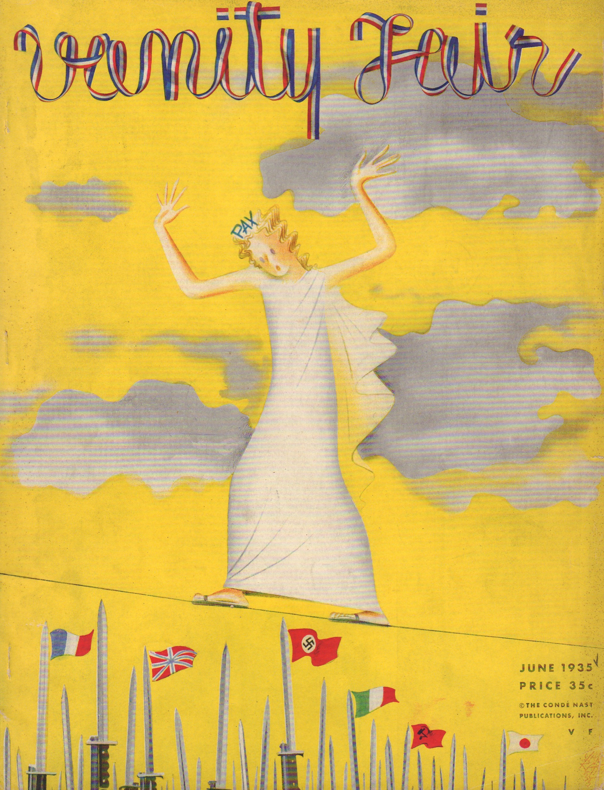 Image for Vanity Fair June 1935 - Cover Only