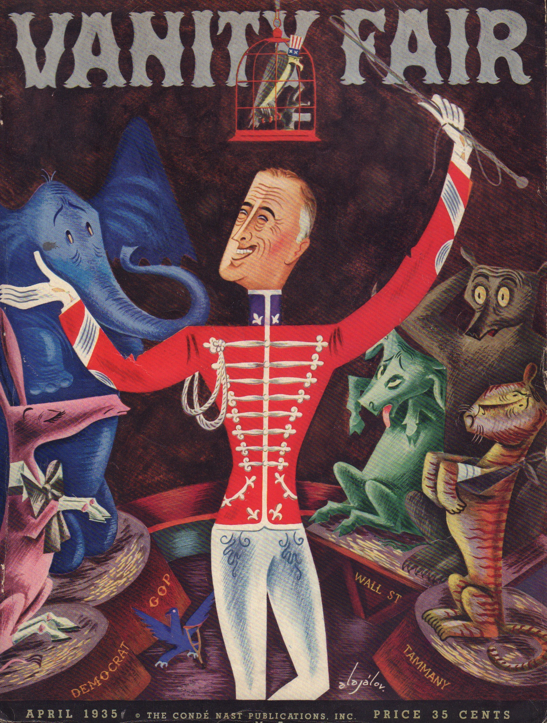 Image for Vanity Fair April 1935 - Cover Only