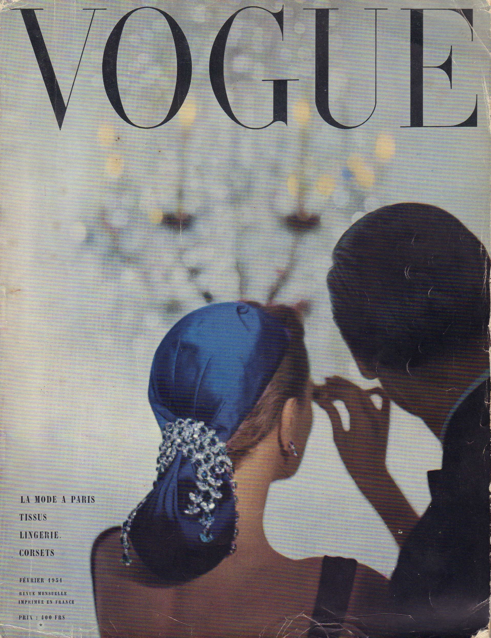 Image for Vogue Fevrier 1951 - French edition (February)