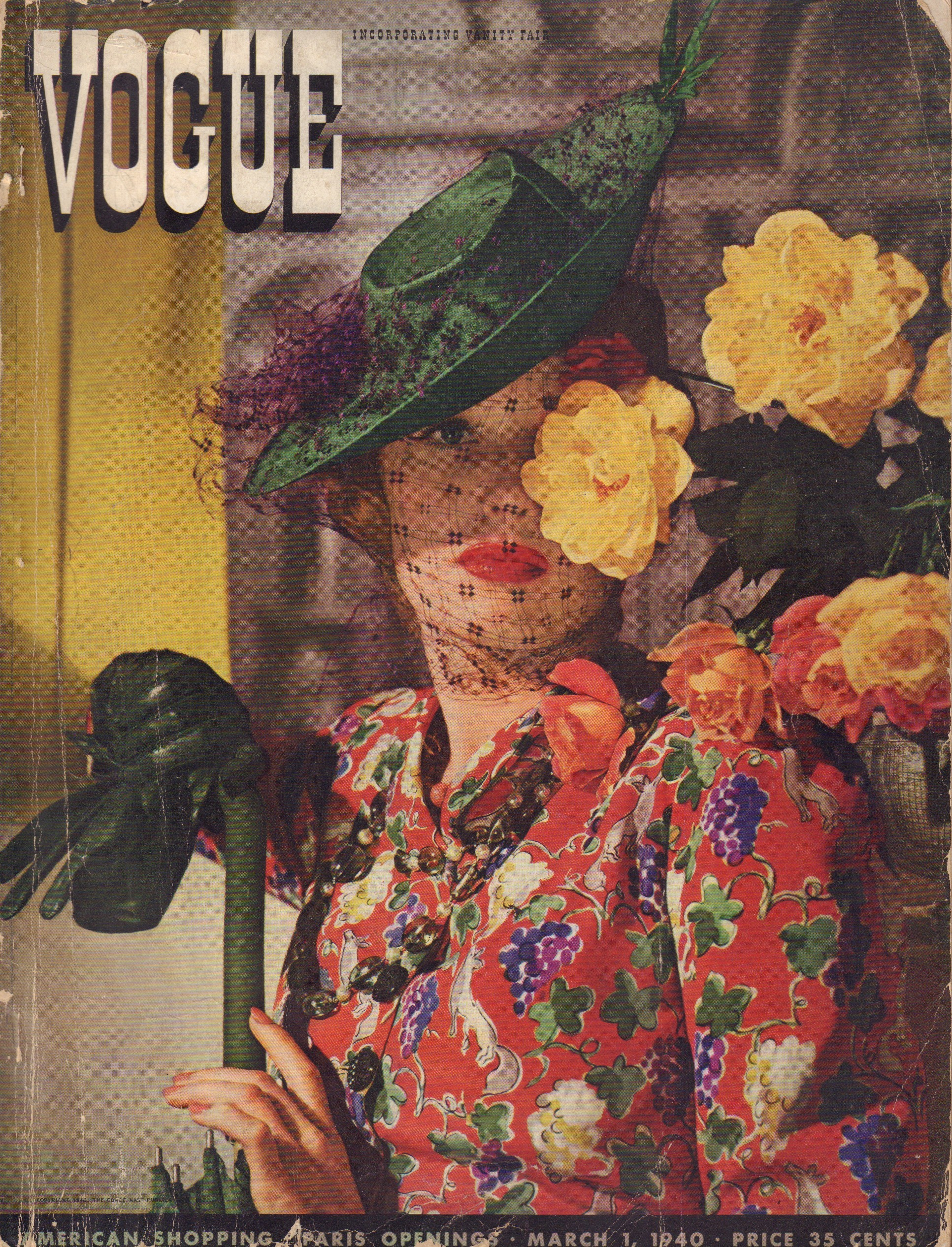 Image for Vogue March 1, 1940