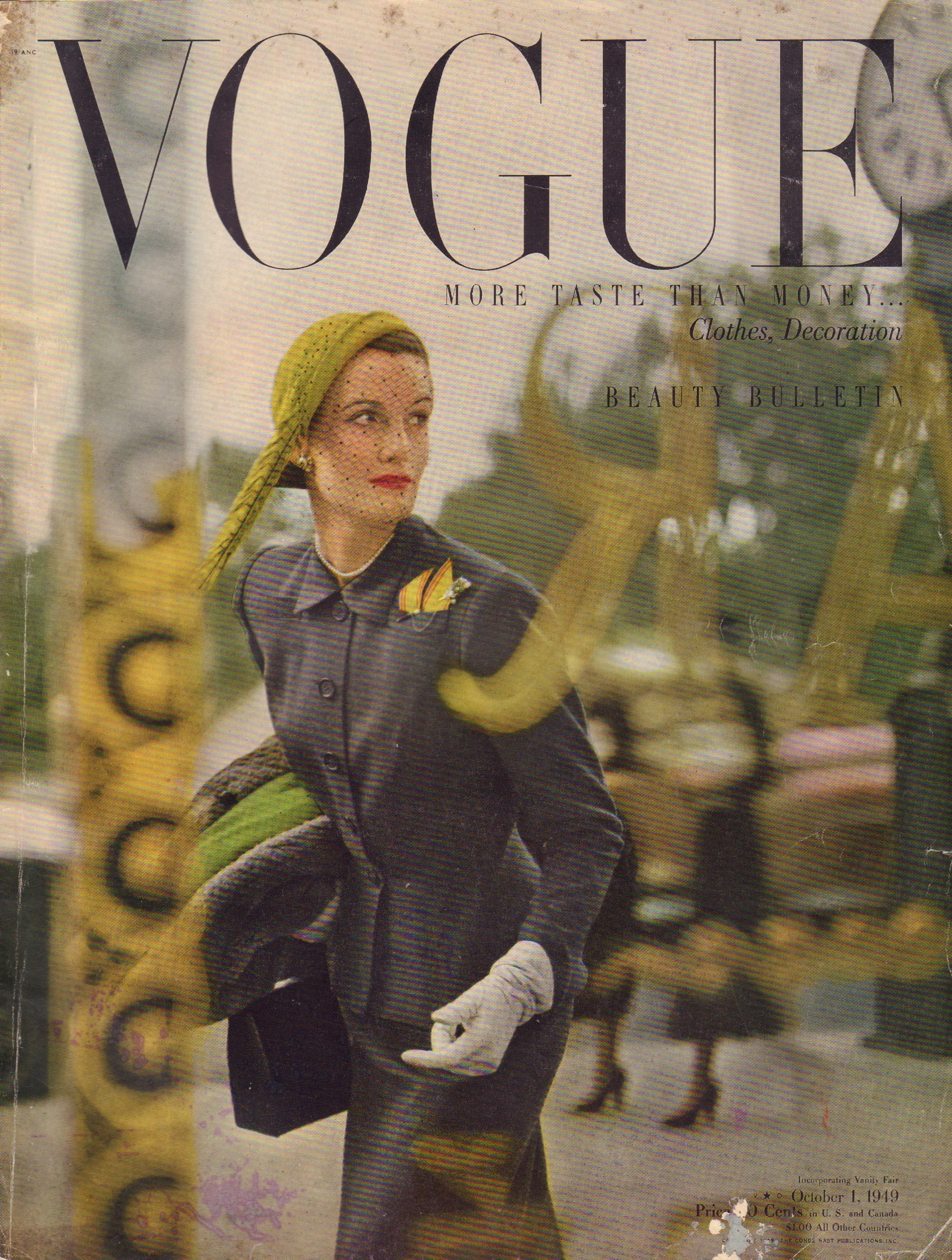 Image for Vogue October 1, 1949