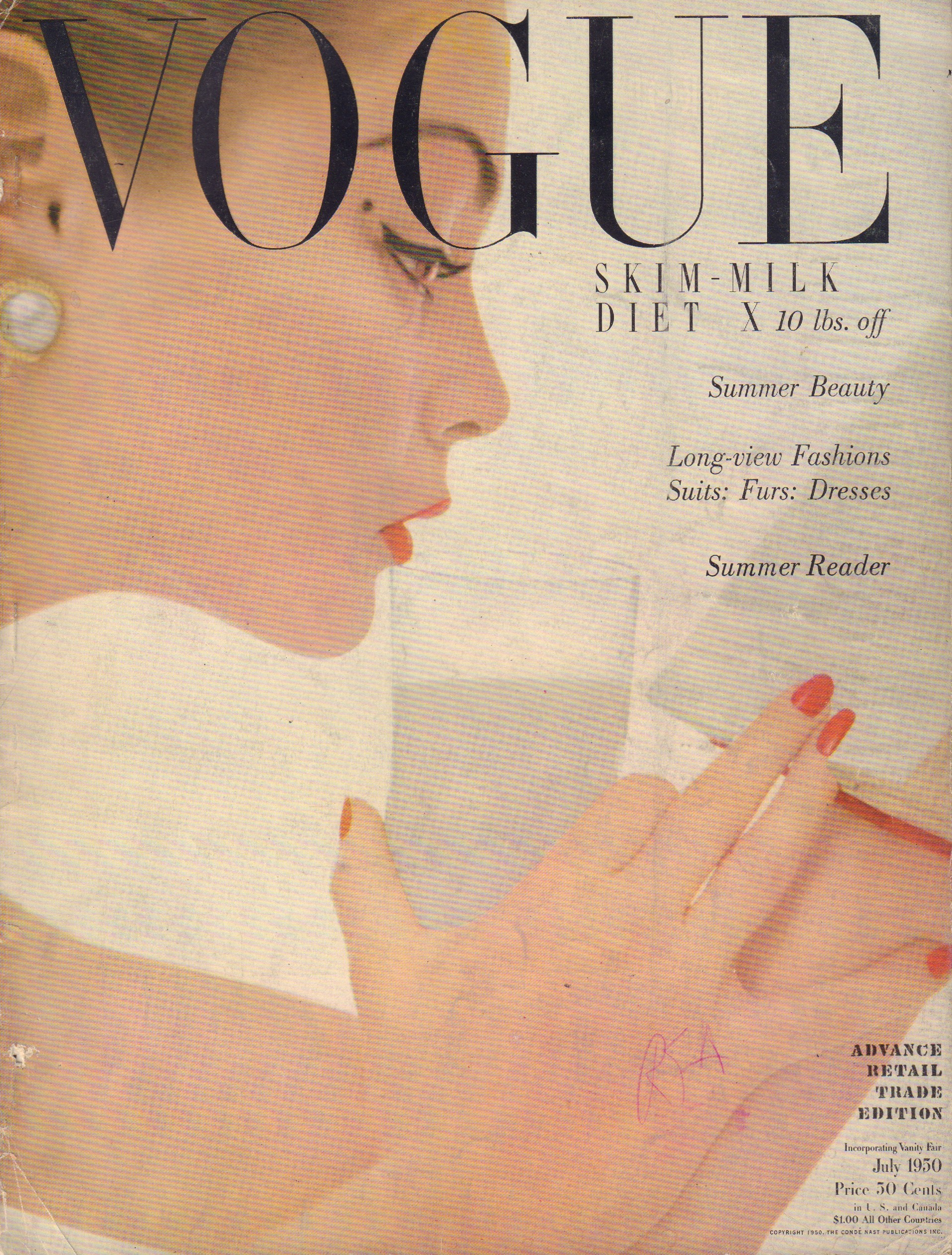 Image for Vogue July 1950