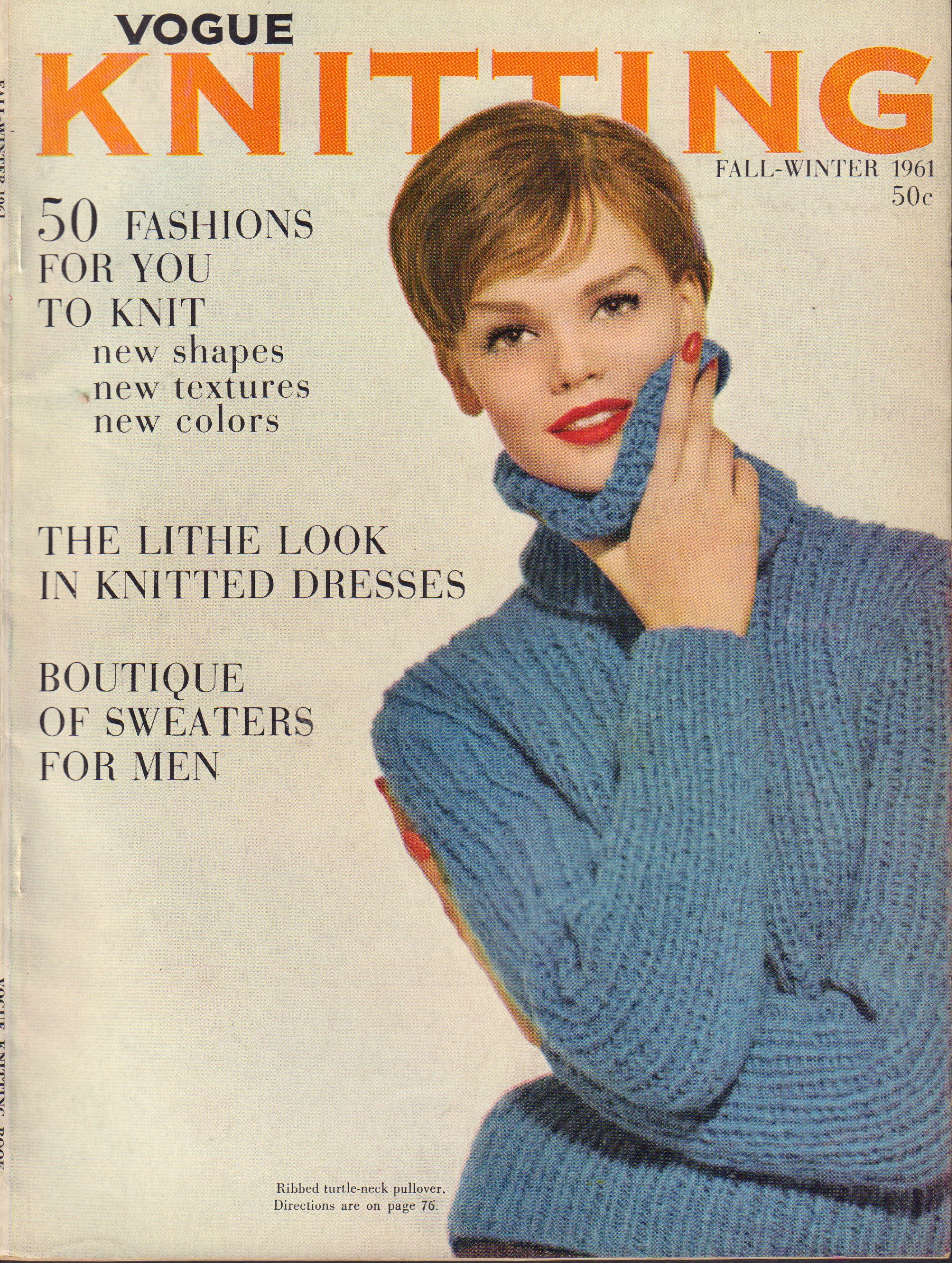 Image for Vogue Knitting Fall-Winter 1961