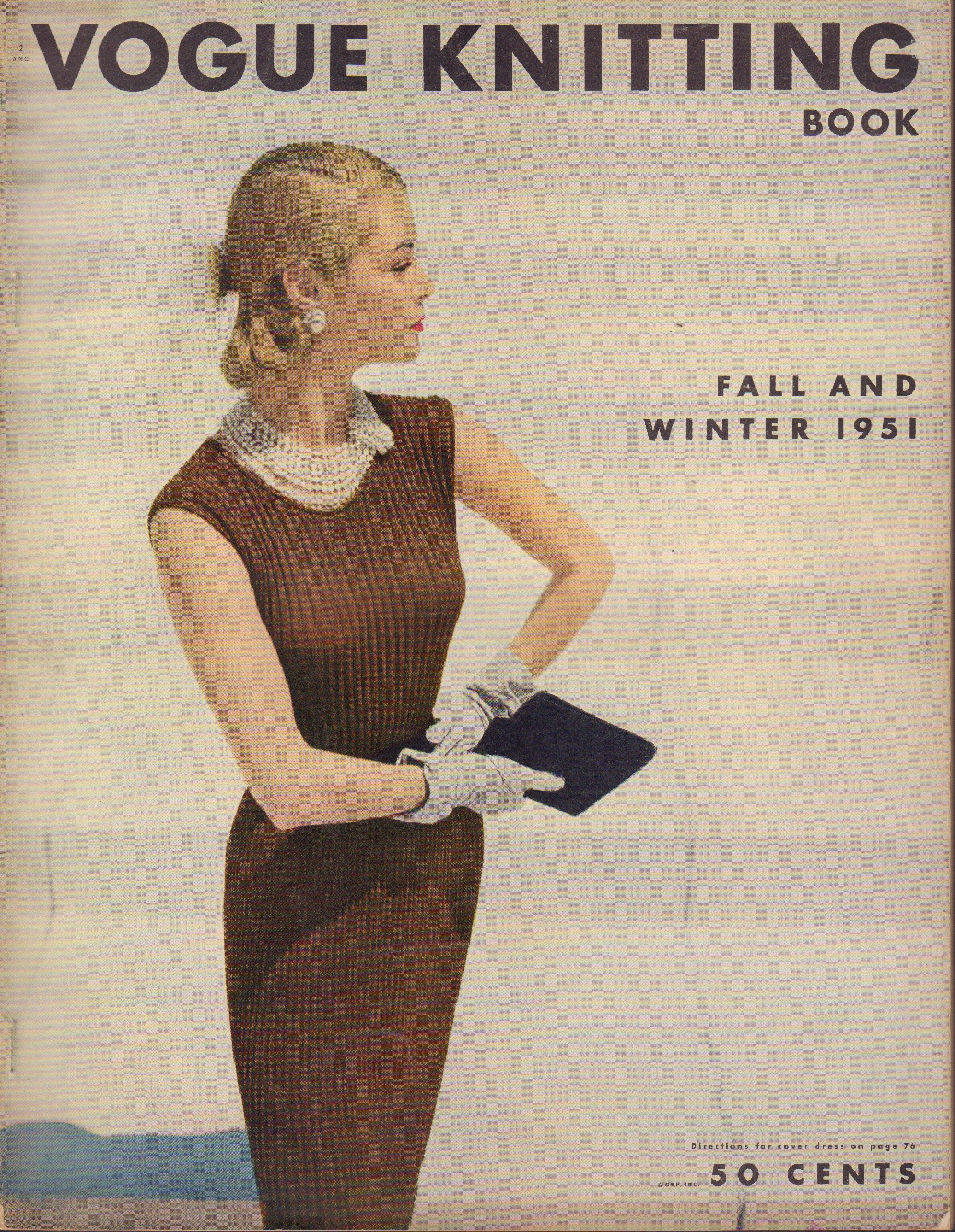 Image for Vogue Knitting Book Fall and Winter 1951