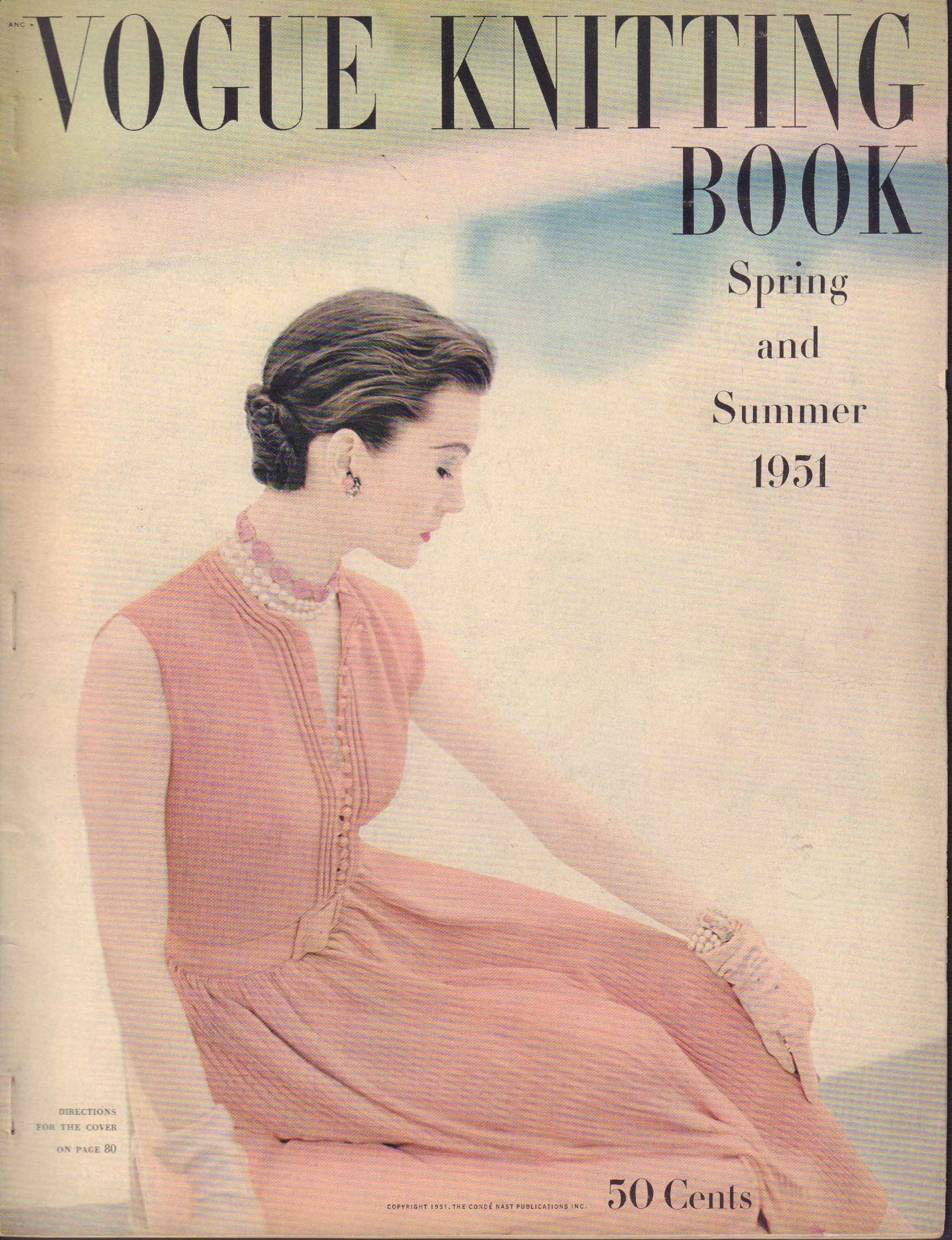 Image for Vogue Knitting Book Spring and Summer 1951