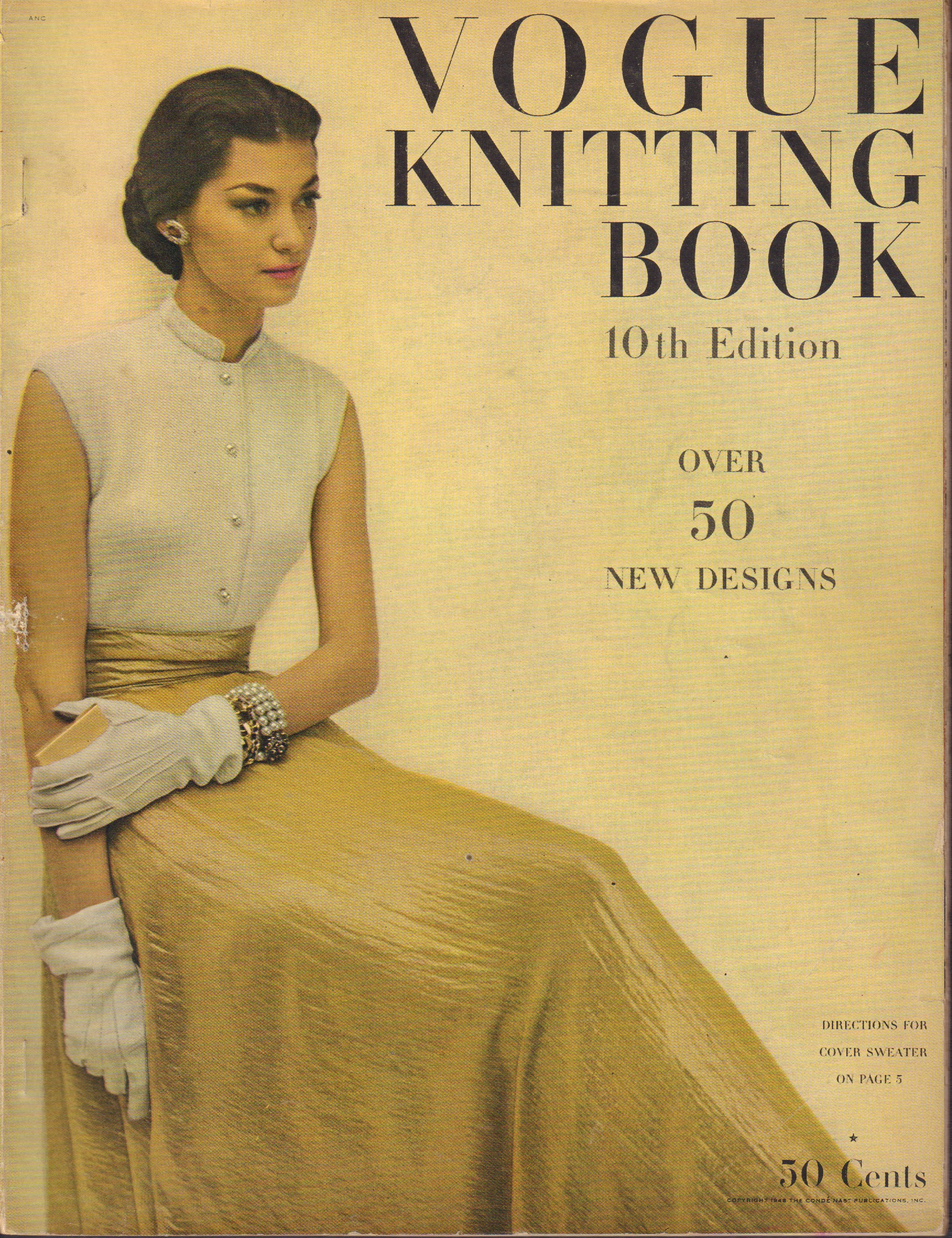 Image for Vogue Knitting Book - 10th Edition 1948