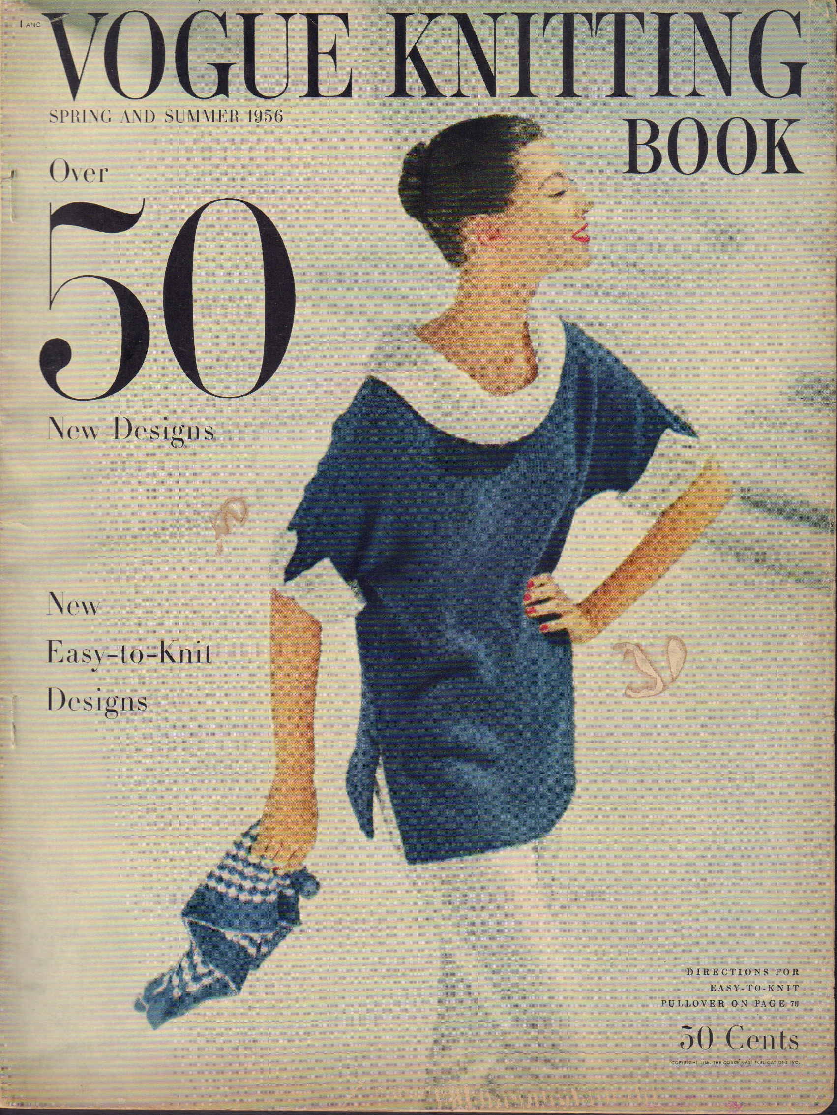 Image for Vogue Knitting Book Spring and Summer 1956