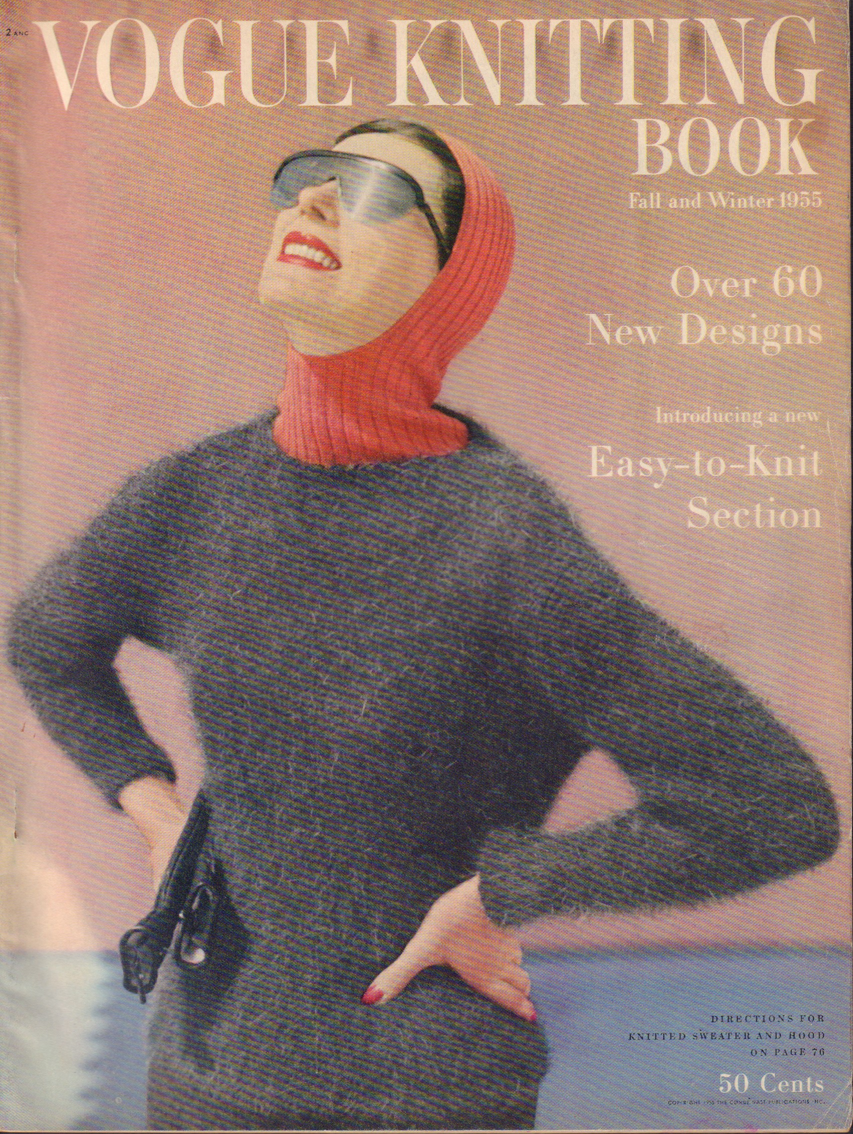 Image for Vogue Knitting Book Fall and Winter 1955