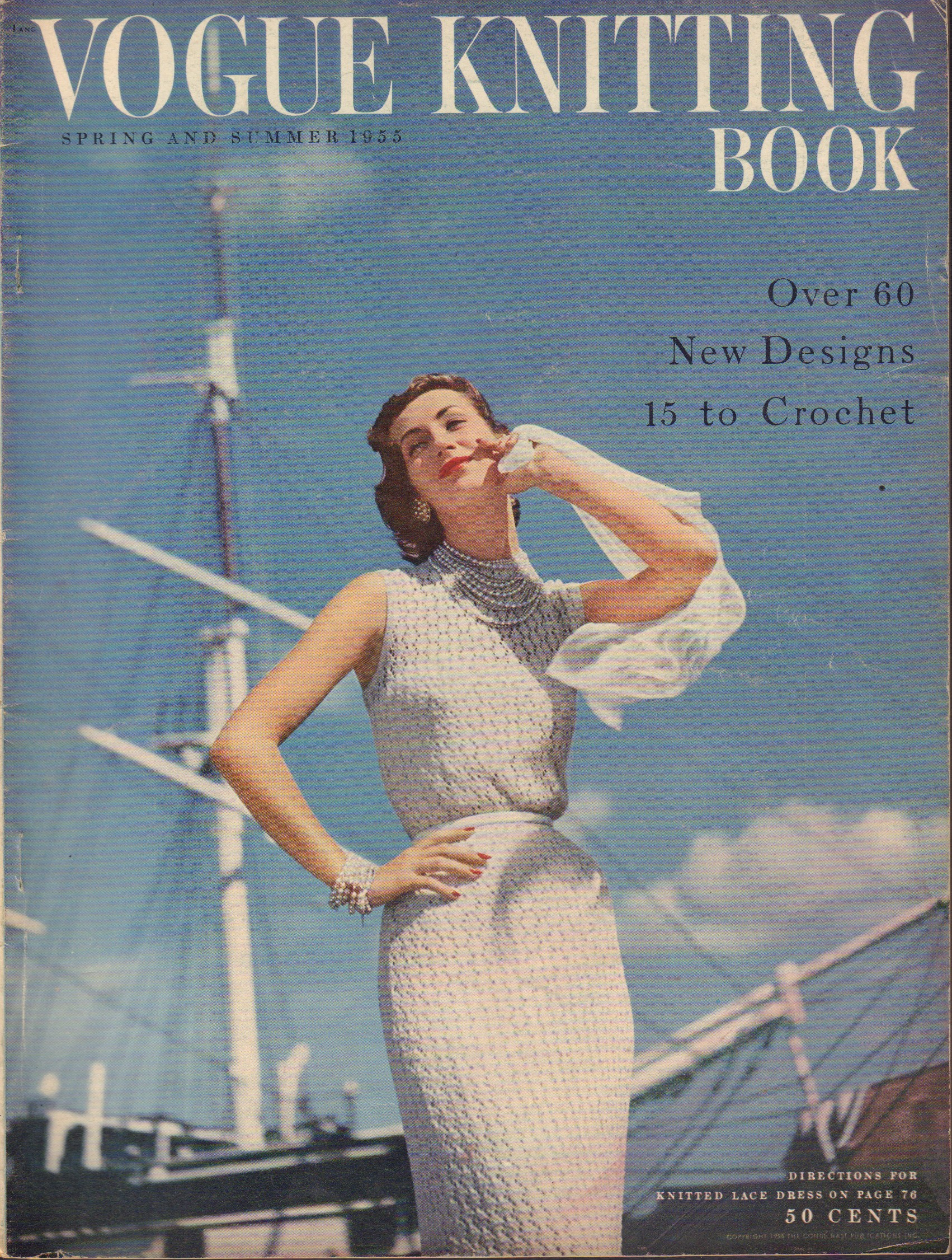 Image for Vogue Knitting Book Spring and Summer 1955