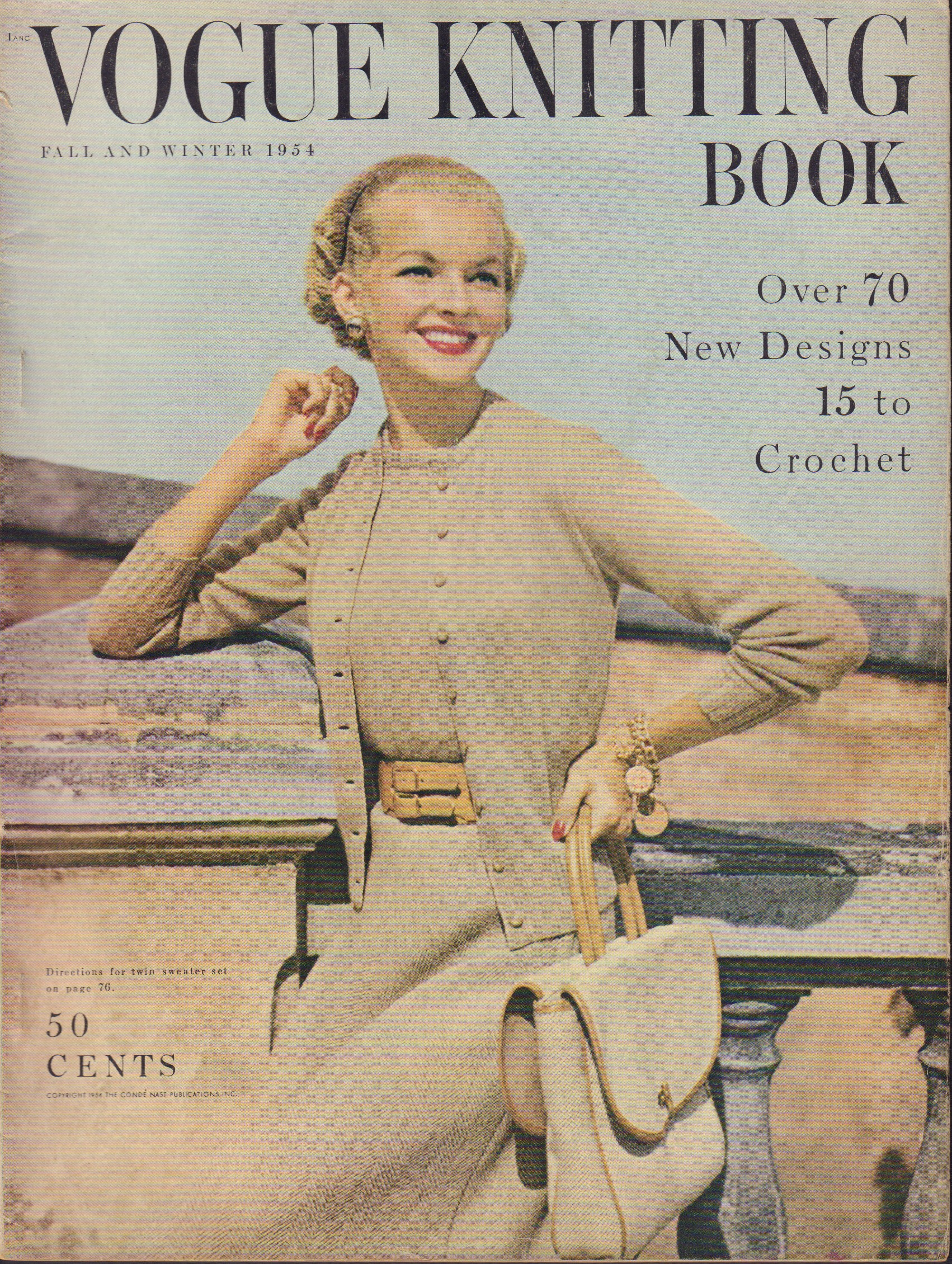Image for Vogue Knitting Book Fall and Winter 1954