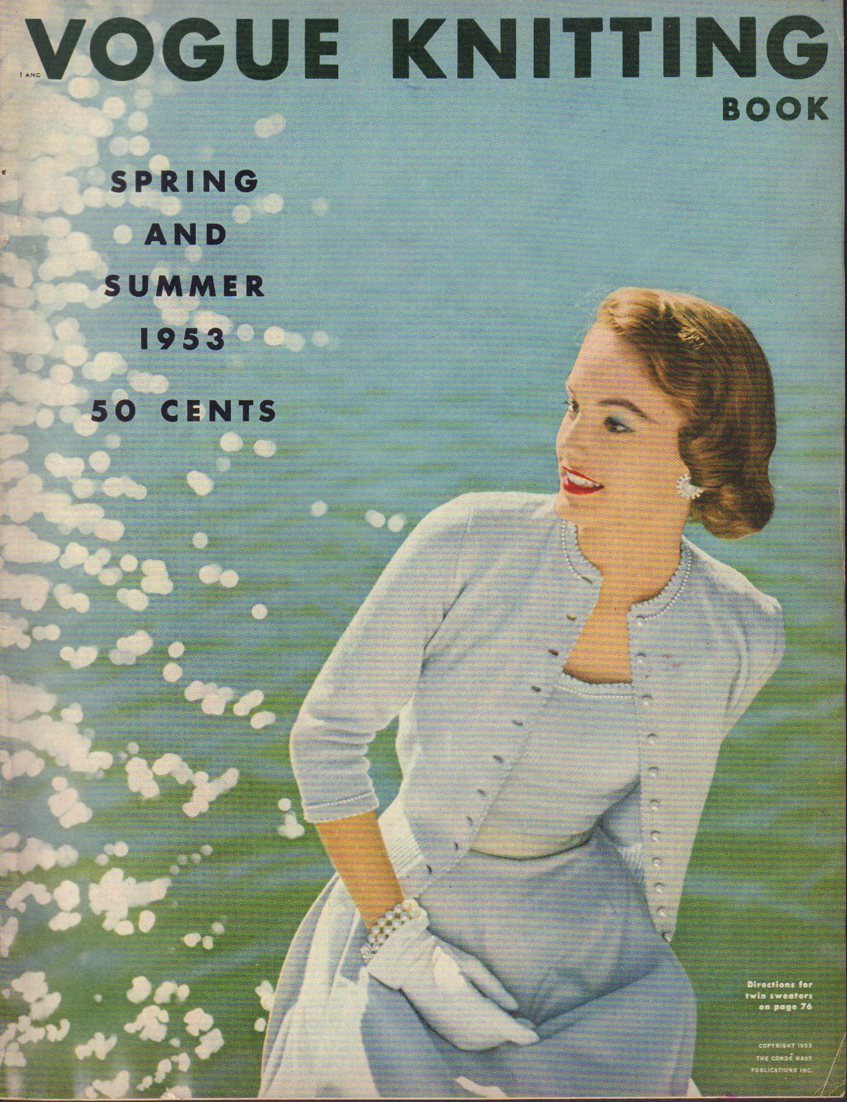 Image for Vogue Knitting Book Spring and Summer 1953