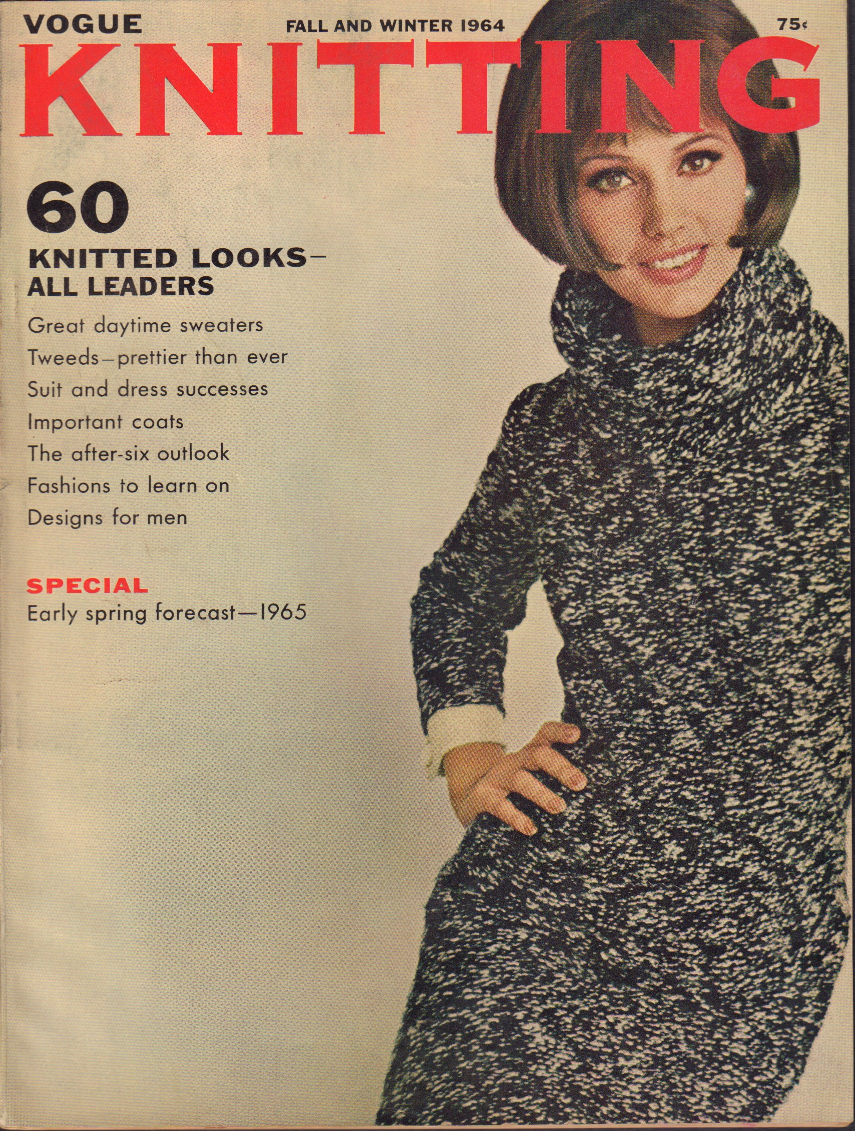 Image for Vogue Knitting Book Fall and Winter 1964