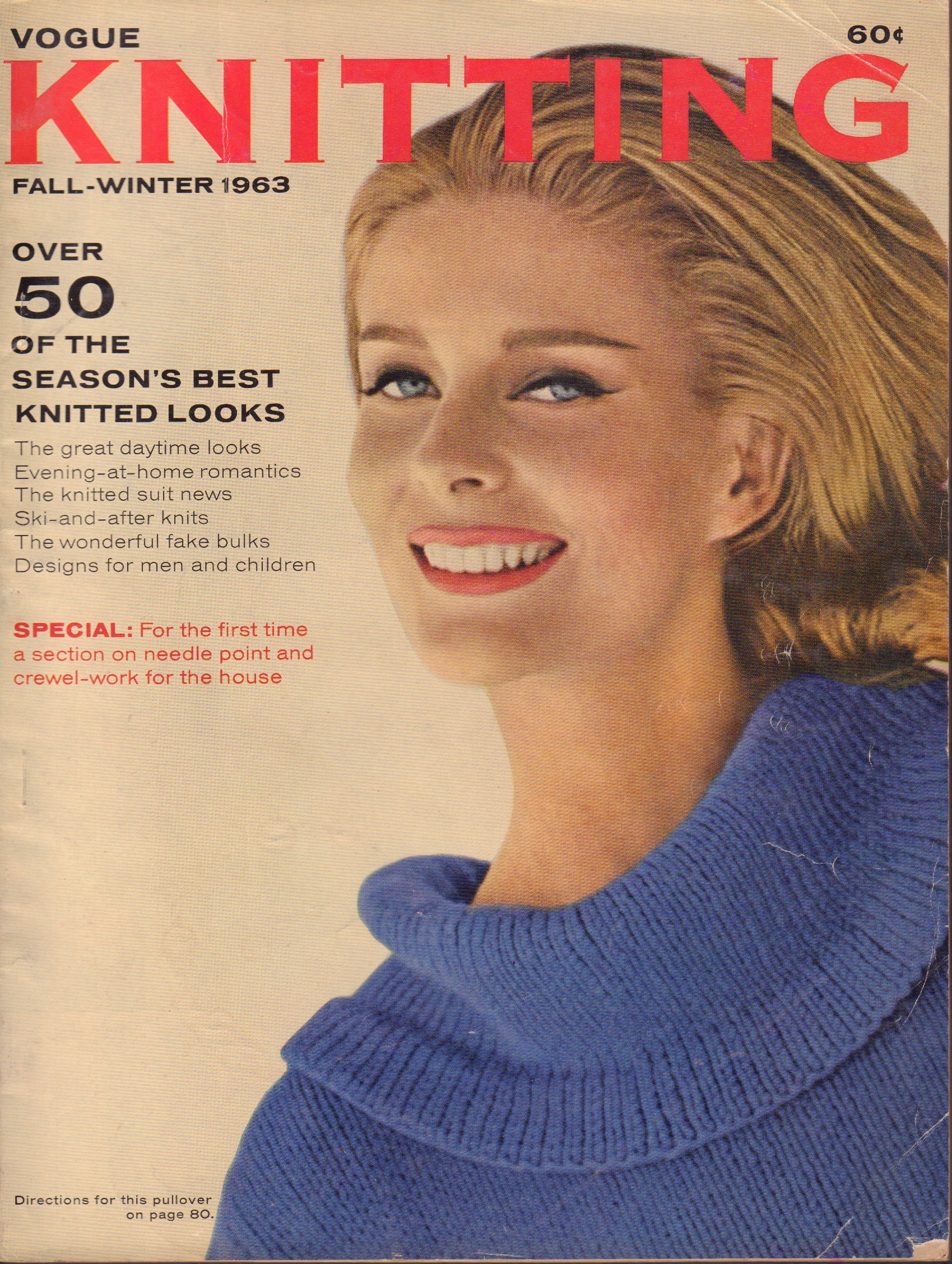 Image for Vogue Knitting Book Fall-Winter 1963