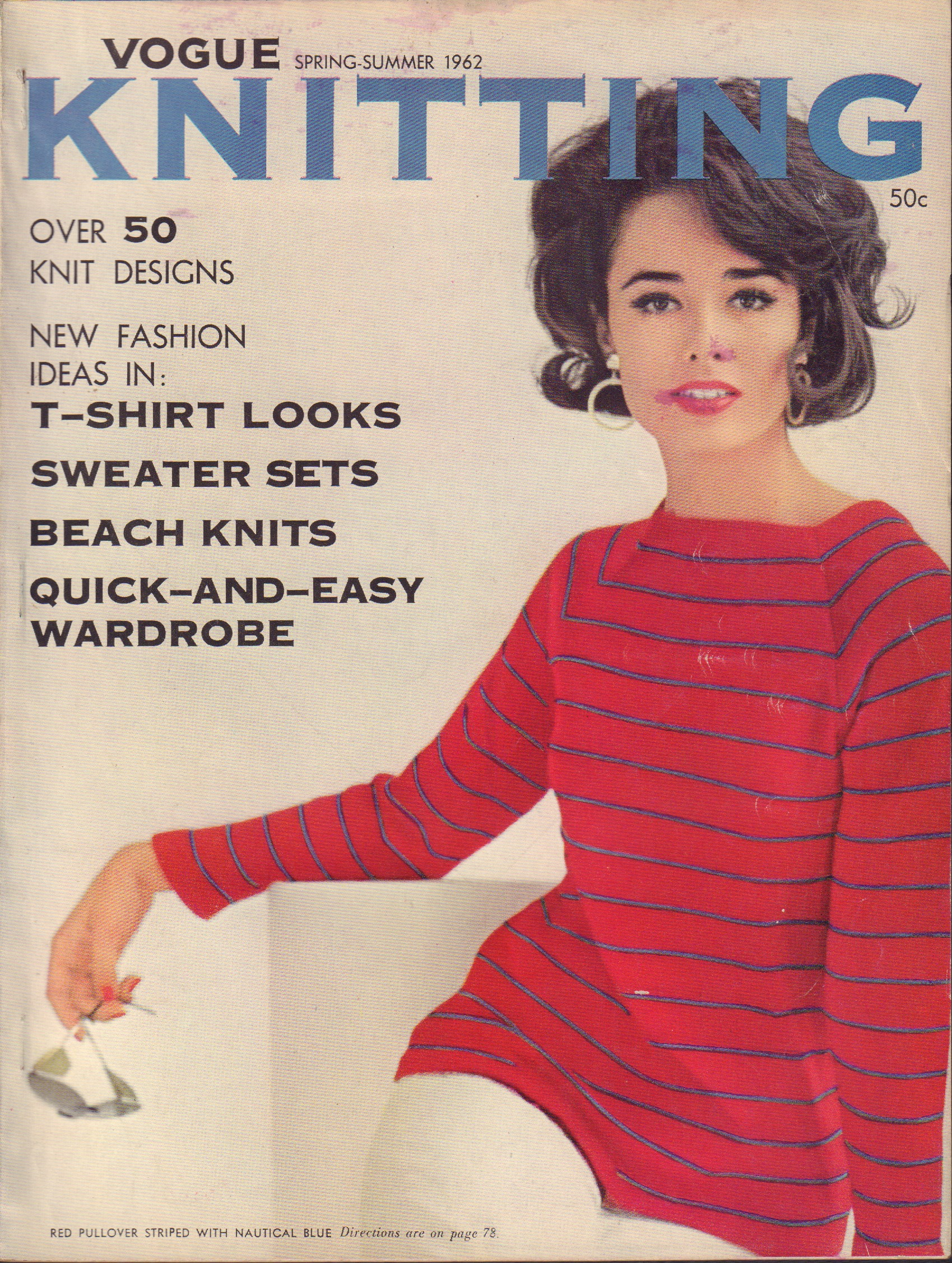 Image for Vogue Knitting Spring-Summer 1962