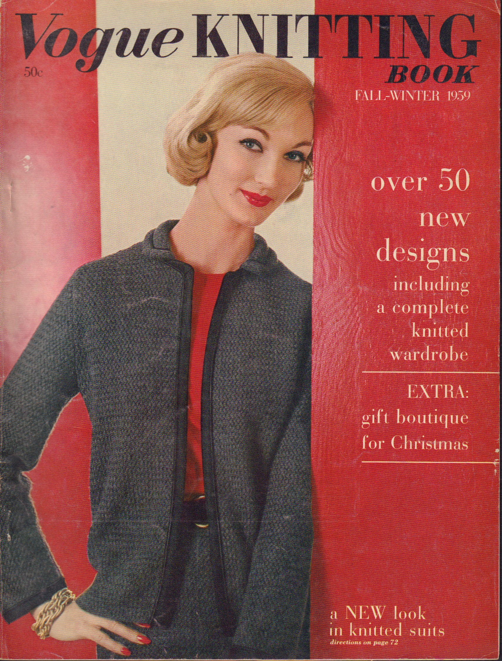 Image for Vogue Knitting Book Fall-Winter 1959
