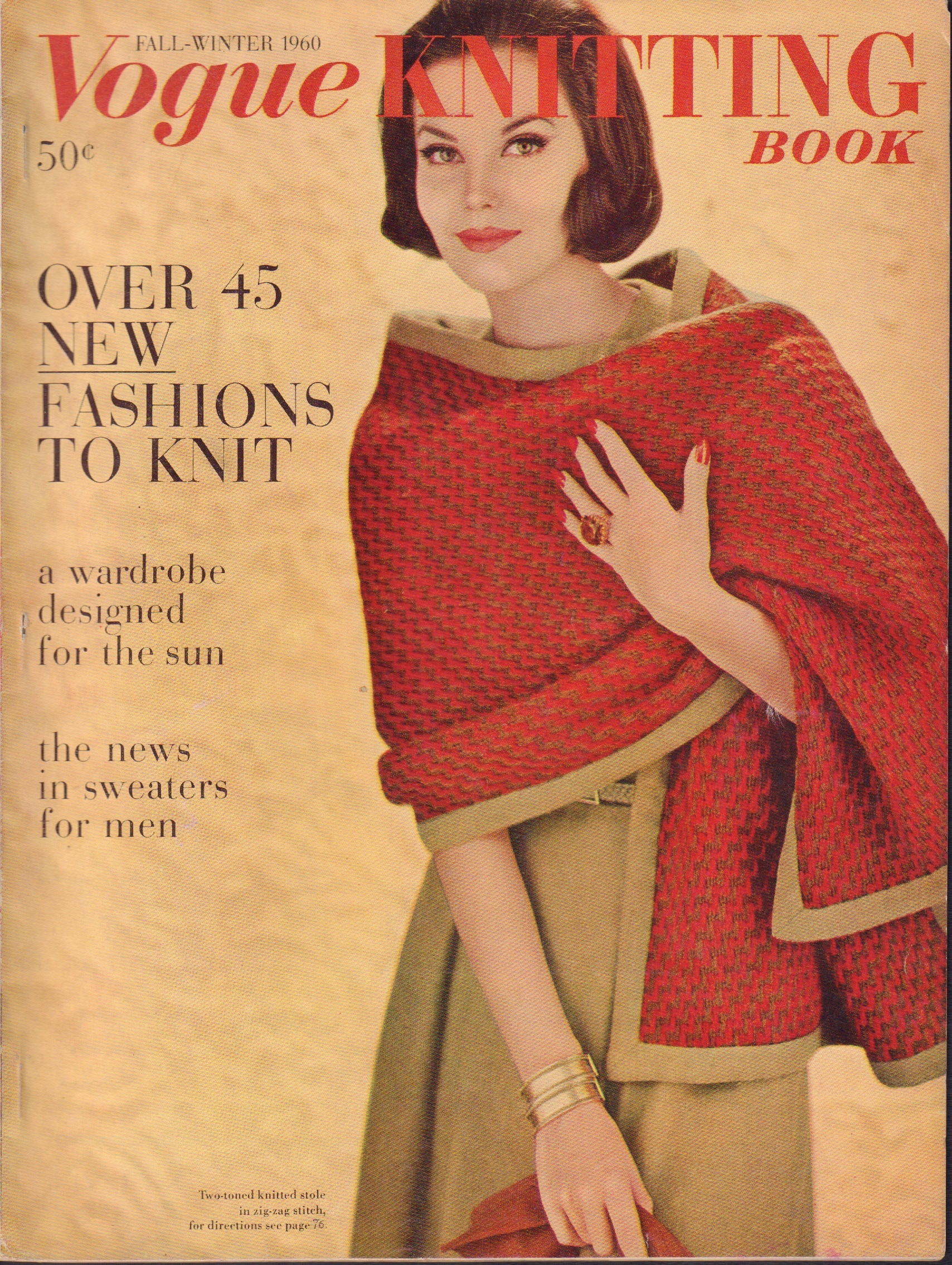 Image for Vogue Knitting Book Fall-Winter 1960