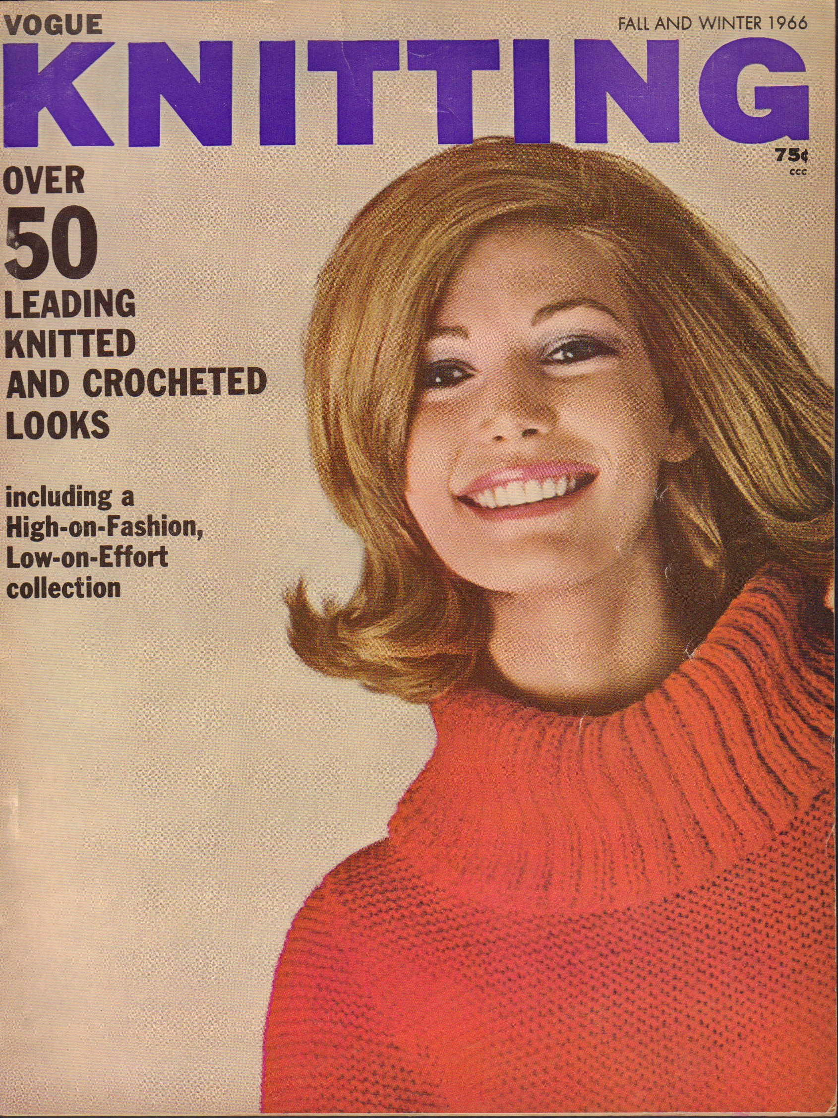 Image for Vogue Knitting Fall and Winter 1966