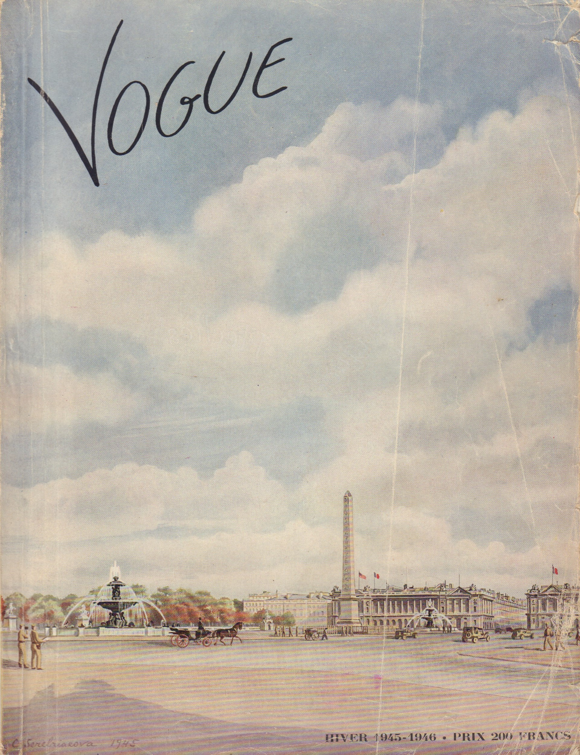Image for Vogue hiver 1945-1946 (French Edition)