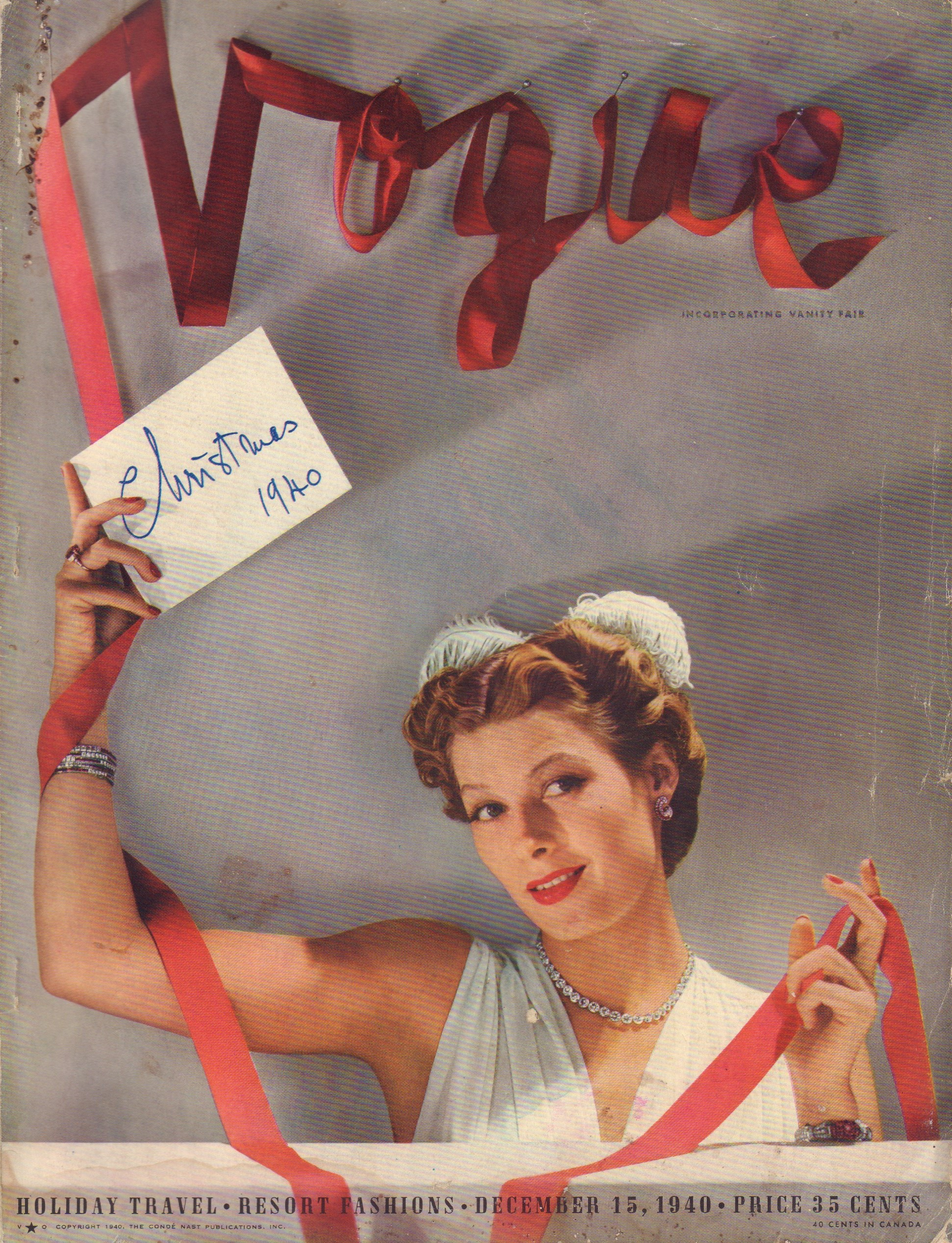 Image for Vogue - December 15, 1940