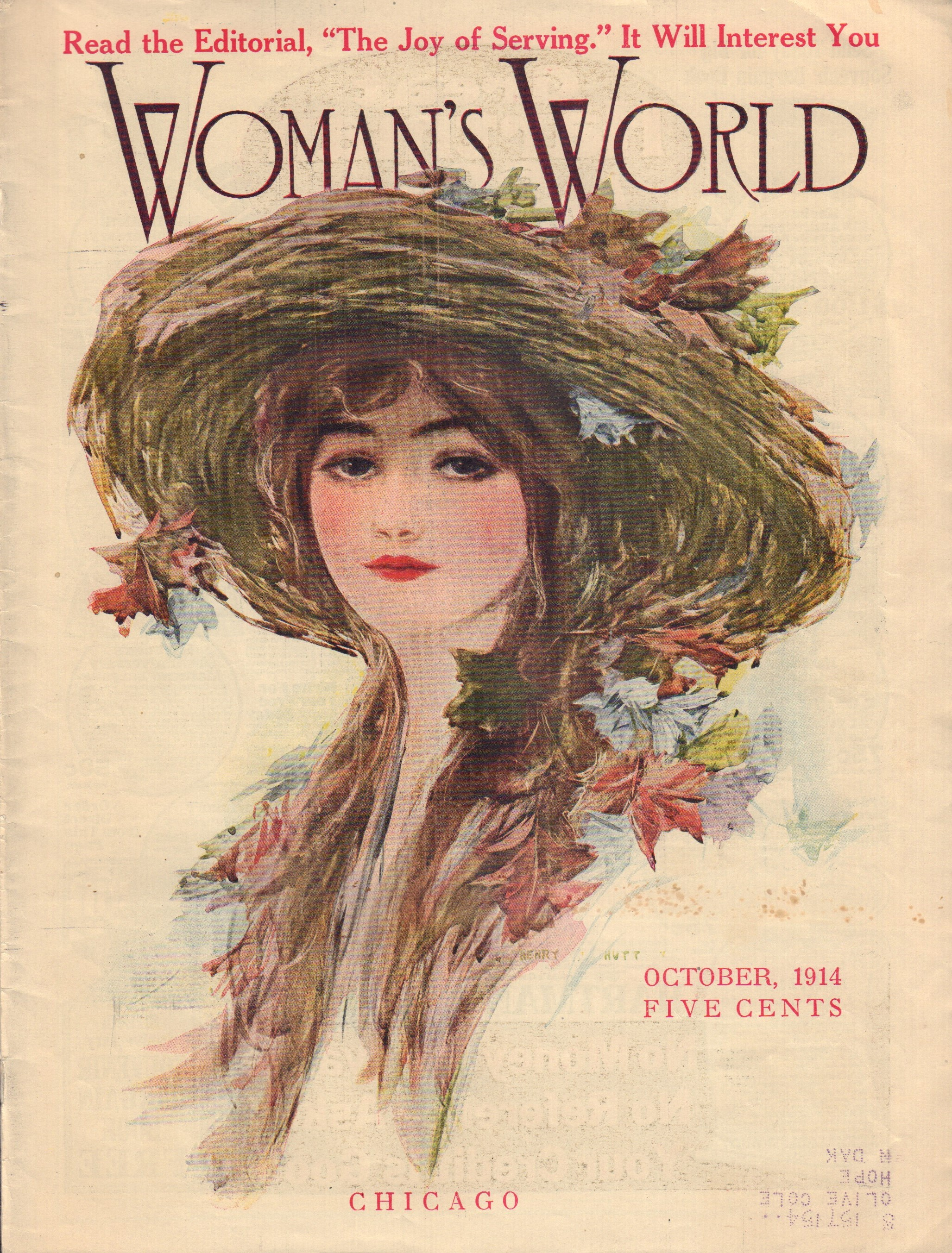 Image for Woman's World Vol. XXX, No. 10, October 1914