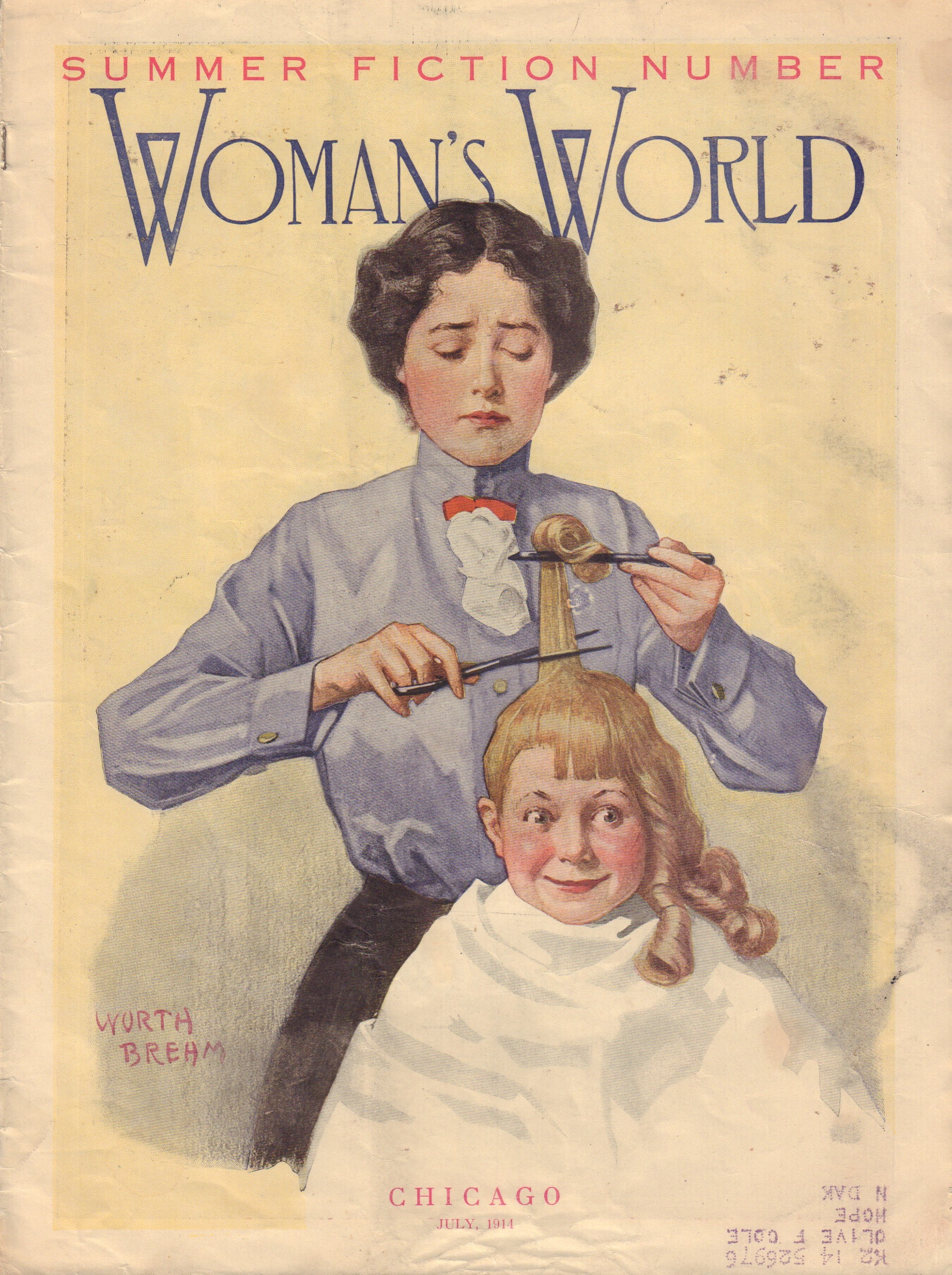 Image for Woman's World Vol. XXX. No. 7, July 1914