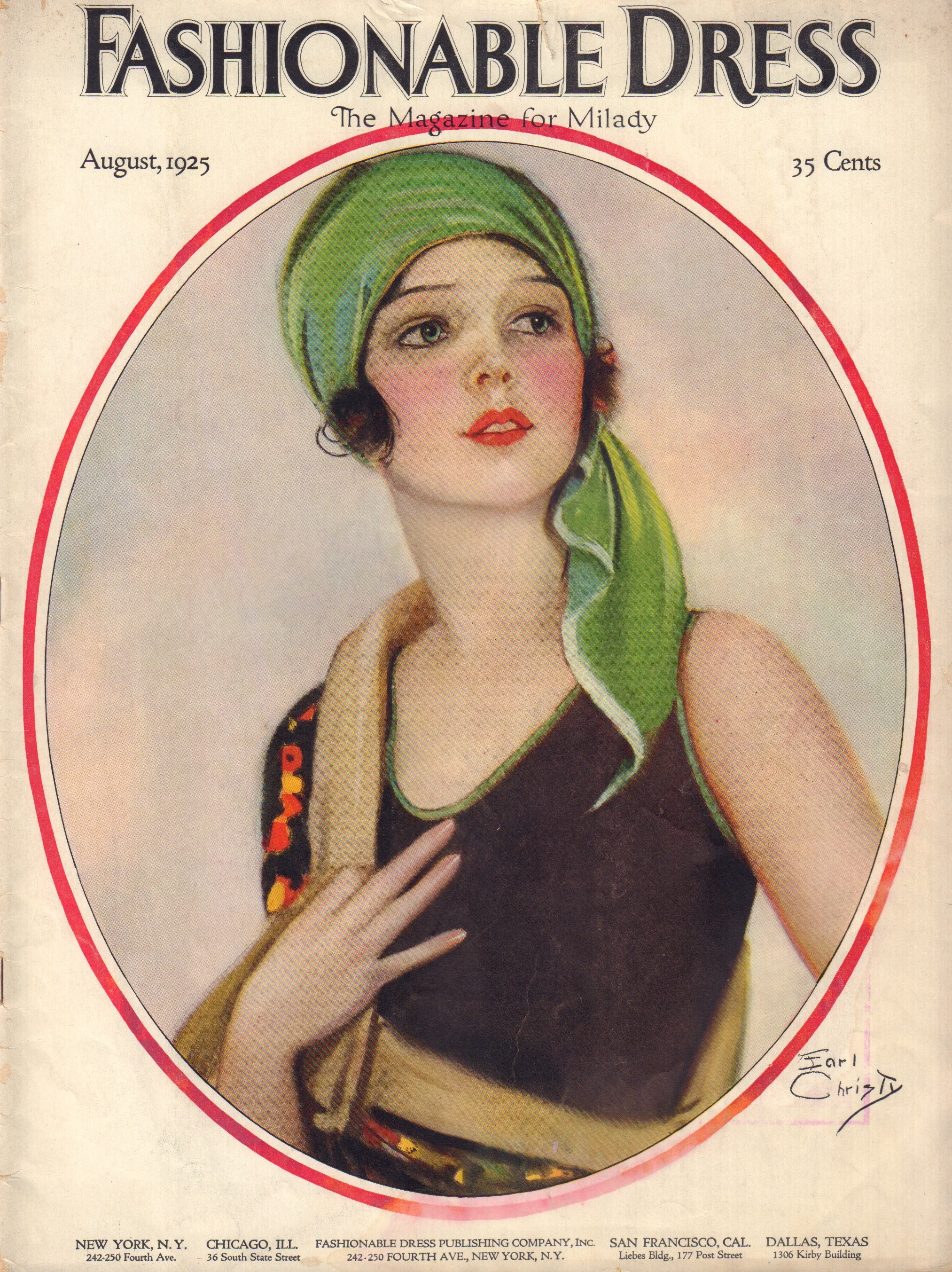 Image for Fashionable Dress, The Magazine for Milady,  Volume X, No. X August 1925