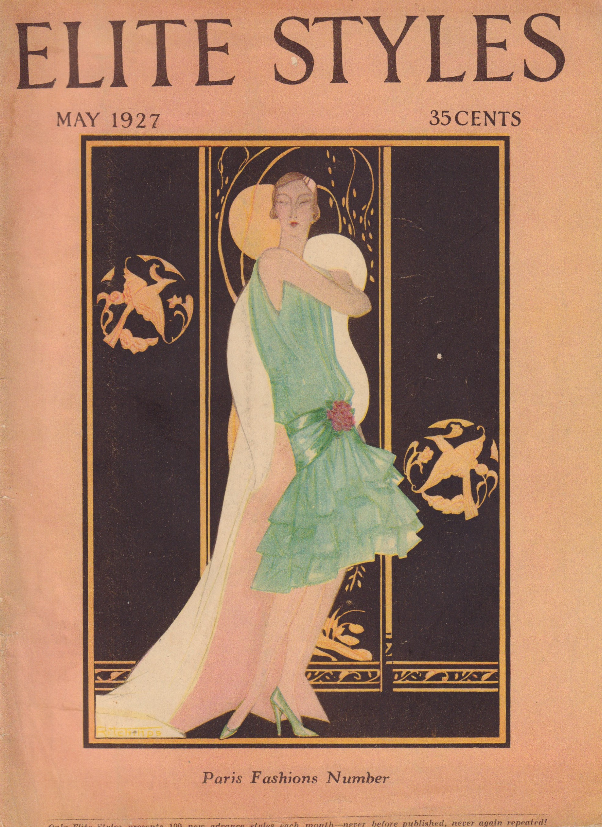 Image for Elite Styles Volume XXXIII, Number 5, May 1927