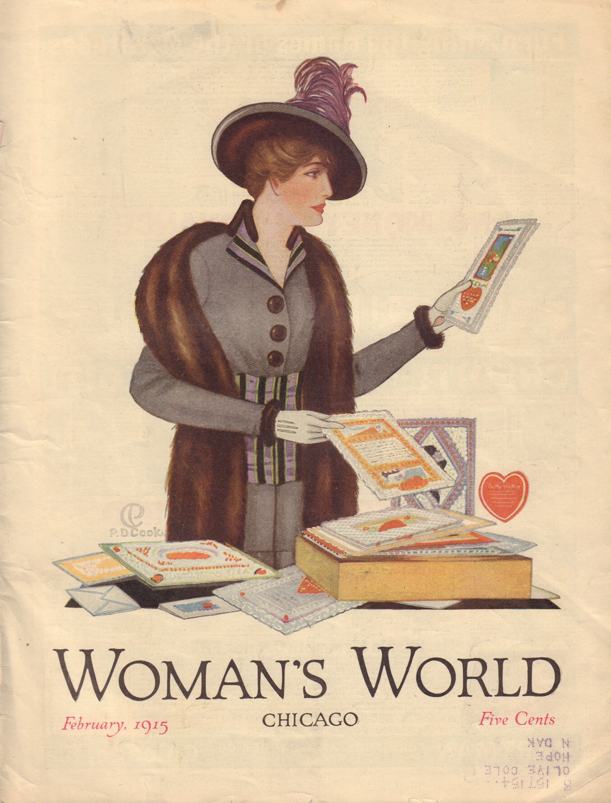 Image for Woman's World Volume XXXI, No. 2 - February 1915
