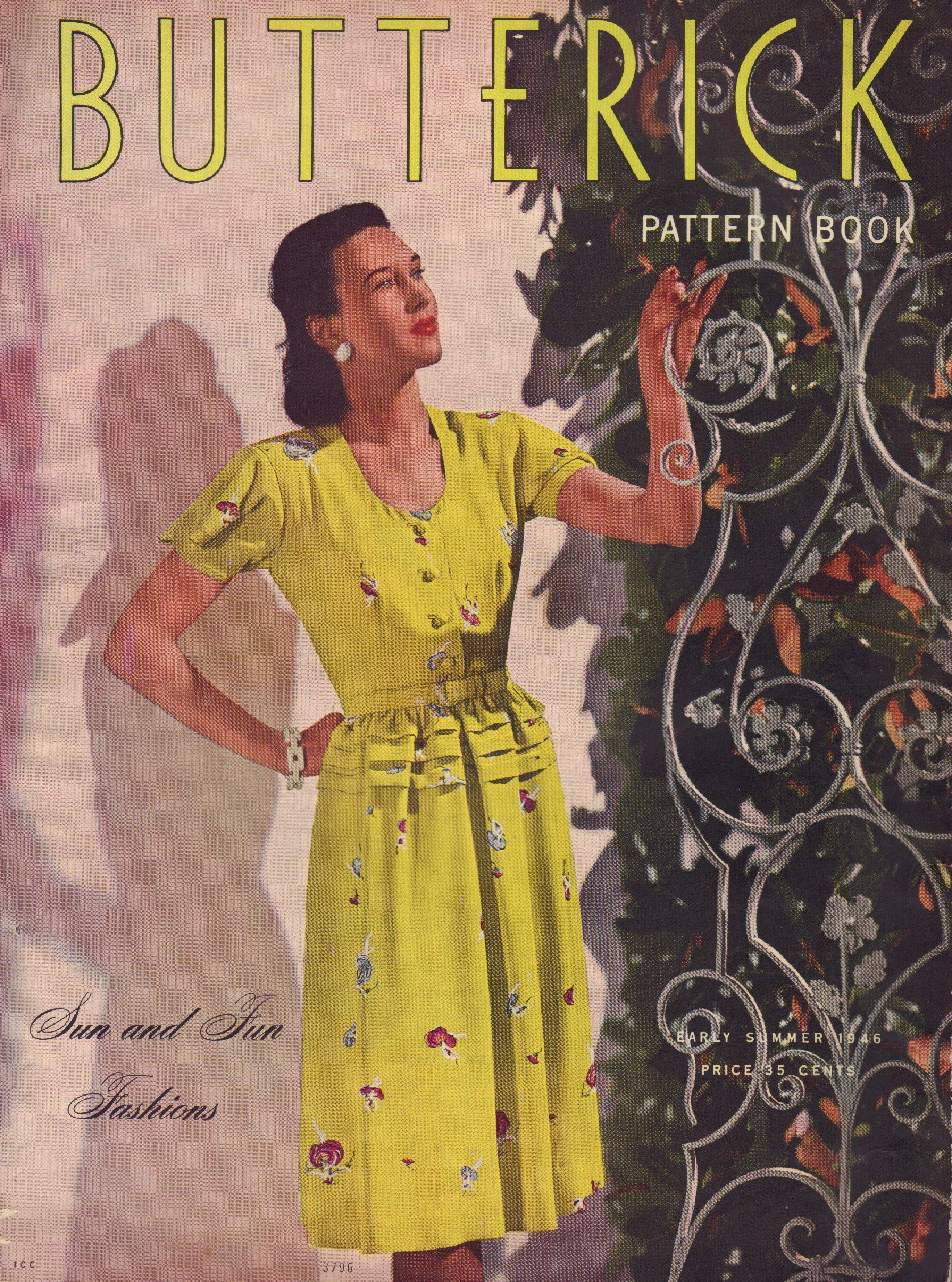 Image for Butterick Pattern Book - Early Summer 1946 (Volume 38, Number 2)