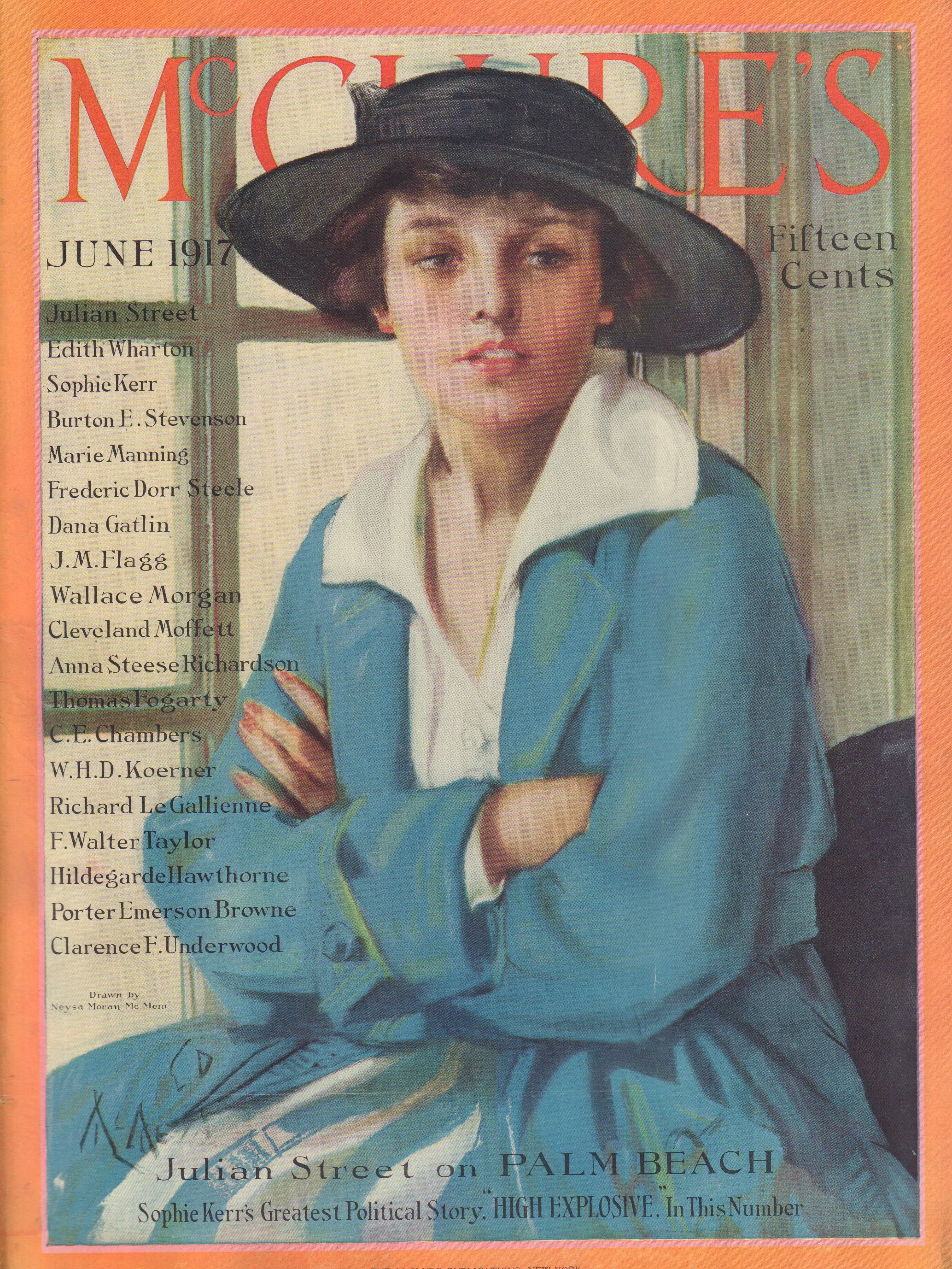 Image for McClure's - June 1917