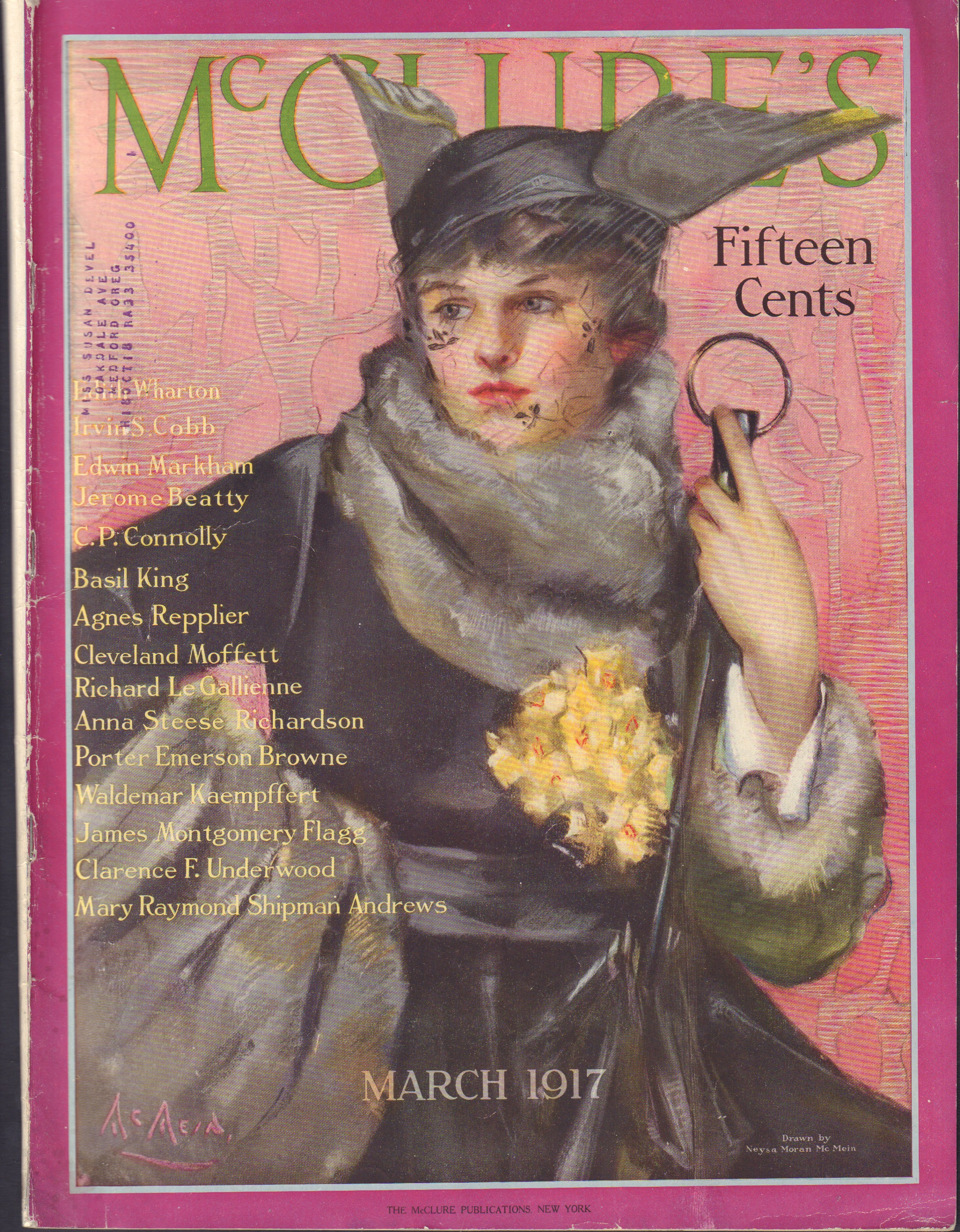 Image for McClure's - March 1917