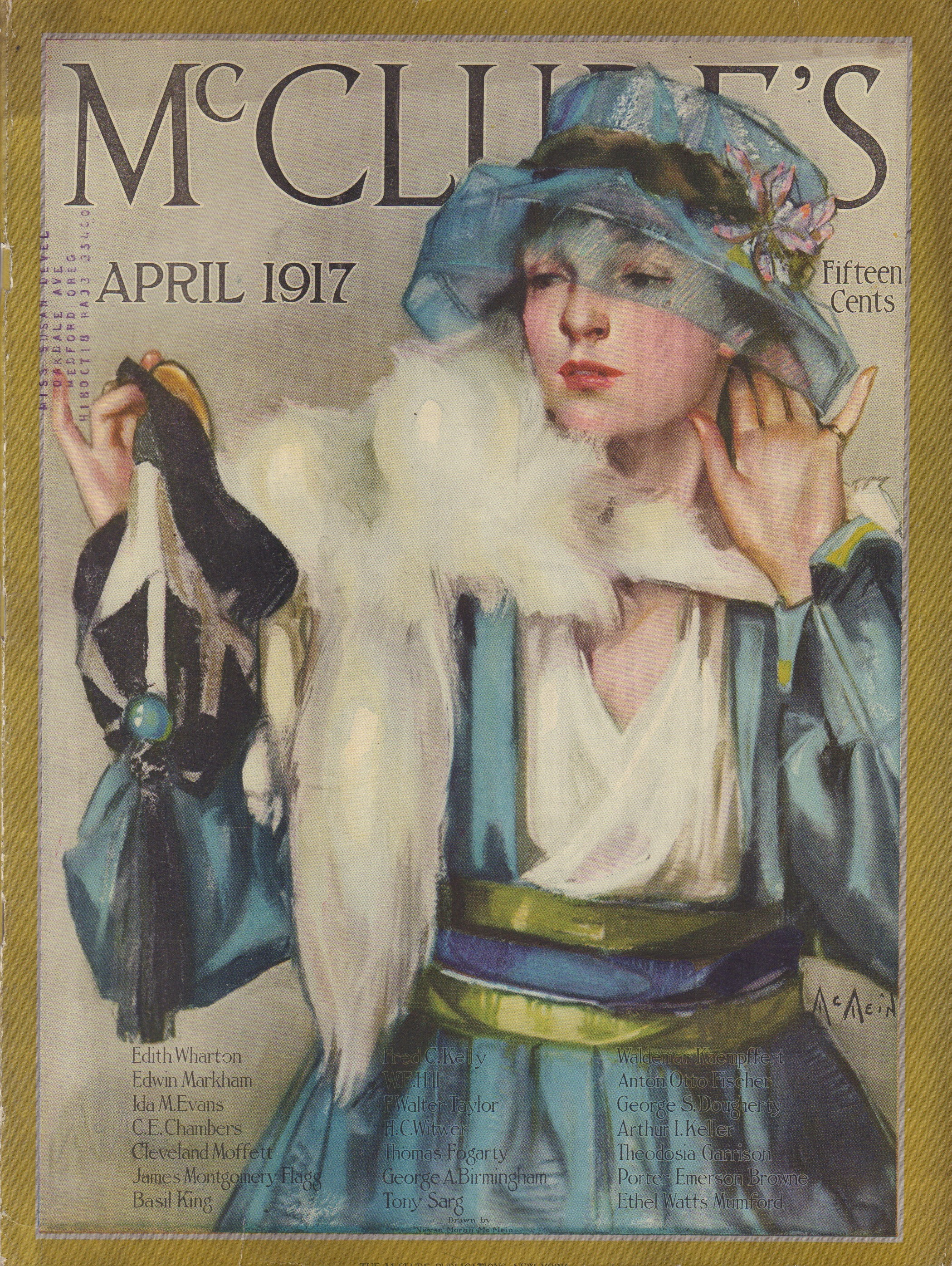 Image for McClure's - April 1917