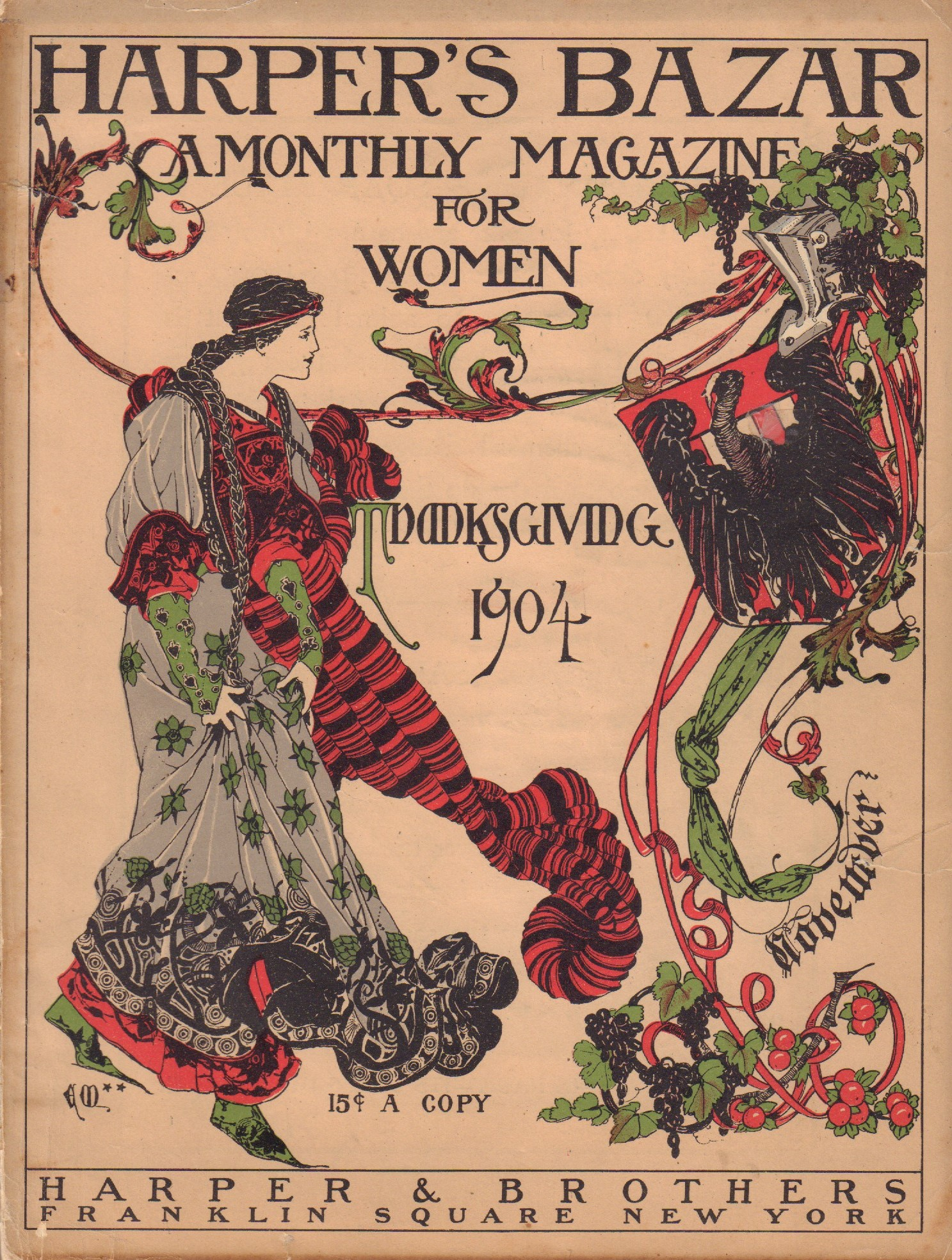 Image for Harper's Bazar (Bazaar) - November 1904