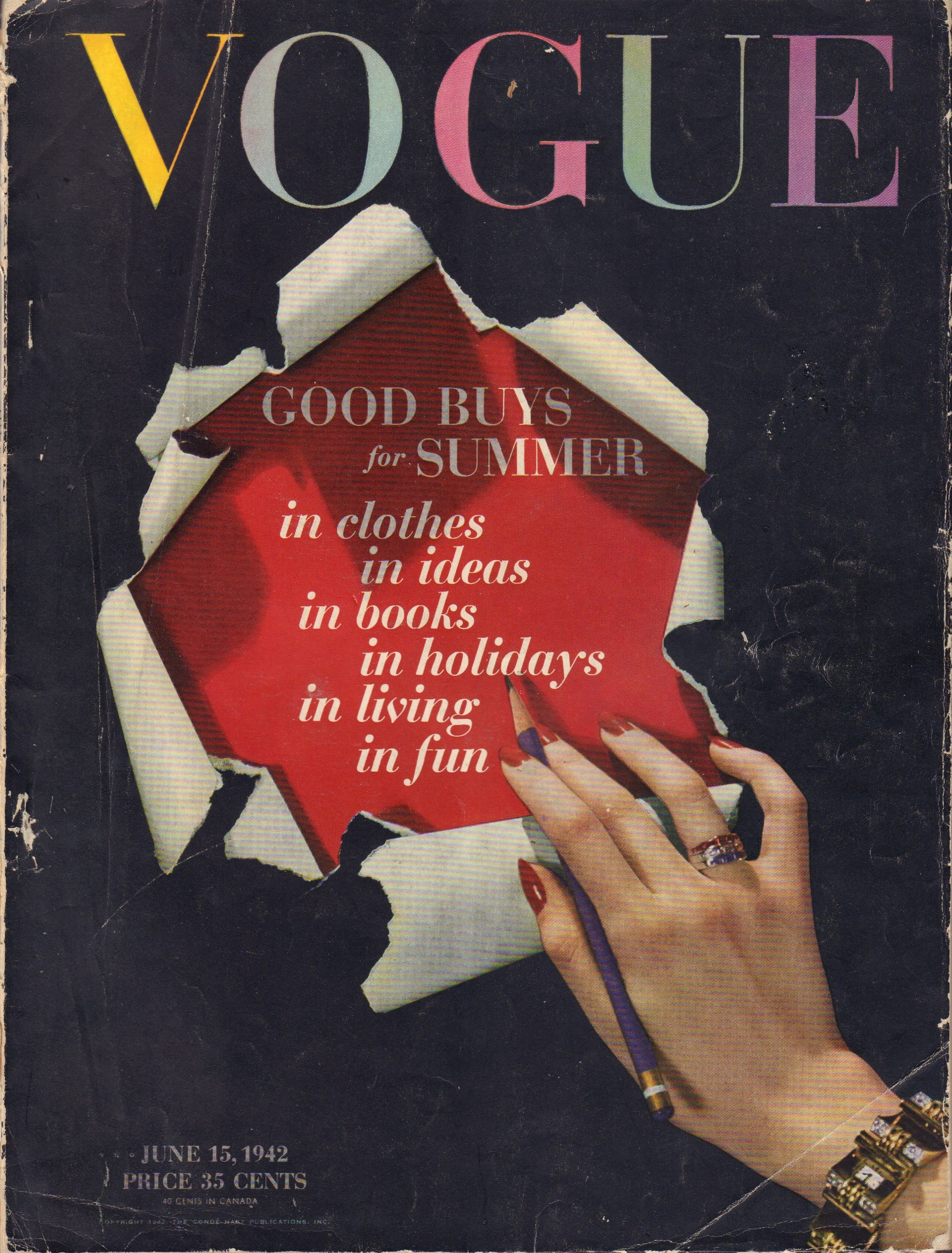 Image for Vogue June 15, 1942