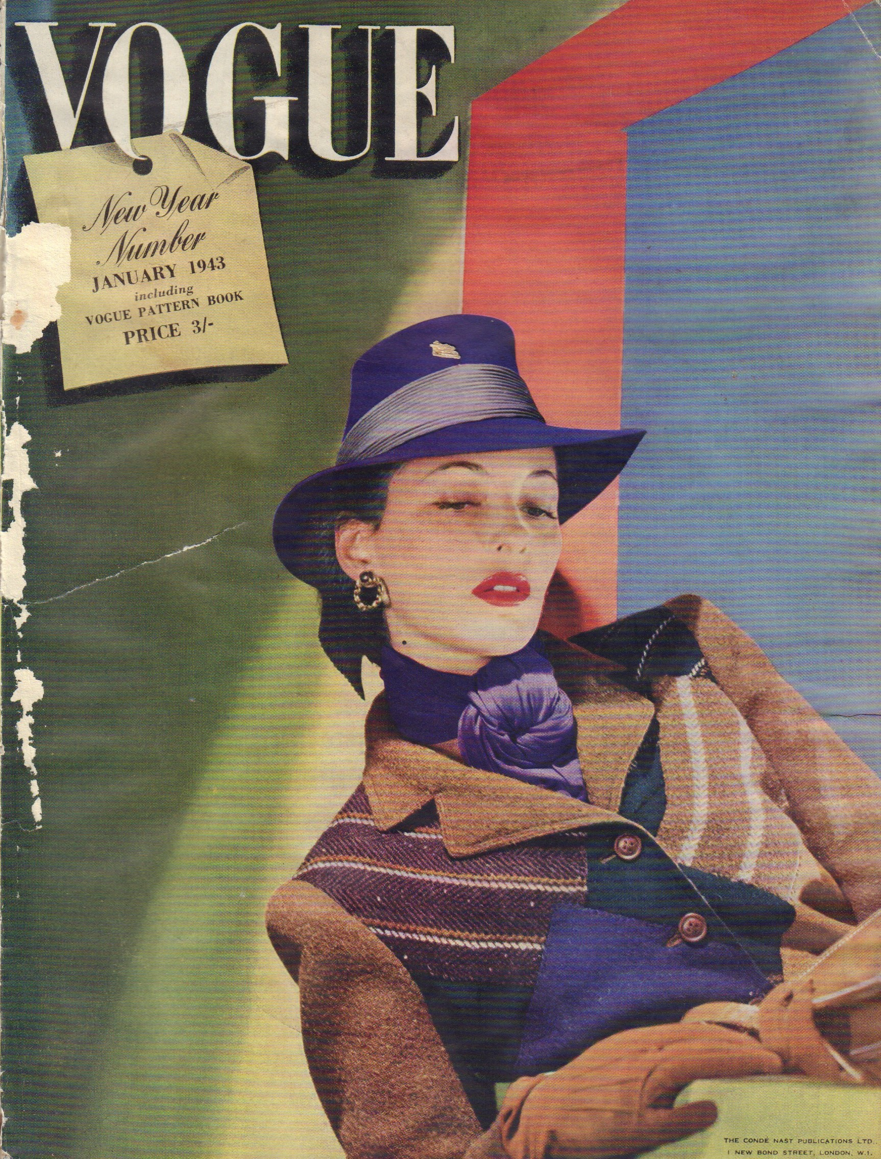 Image for (British) Vogue January 1943, New Year Number