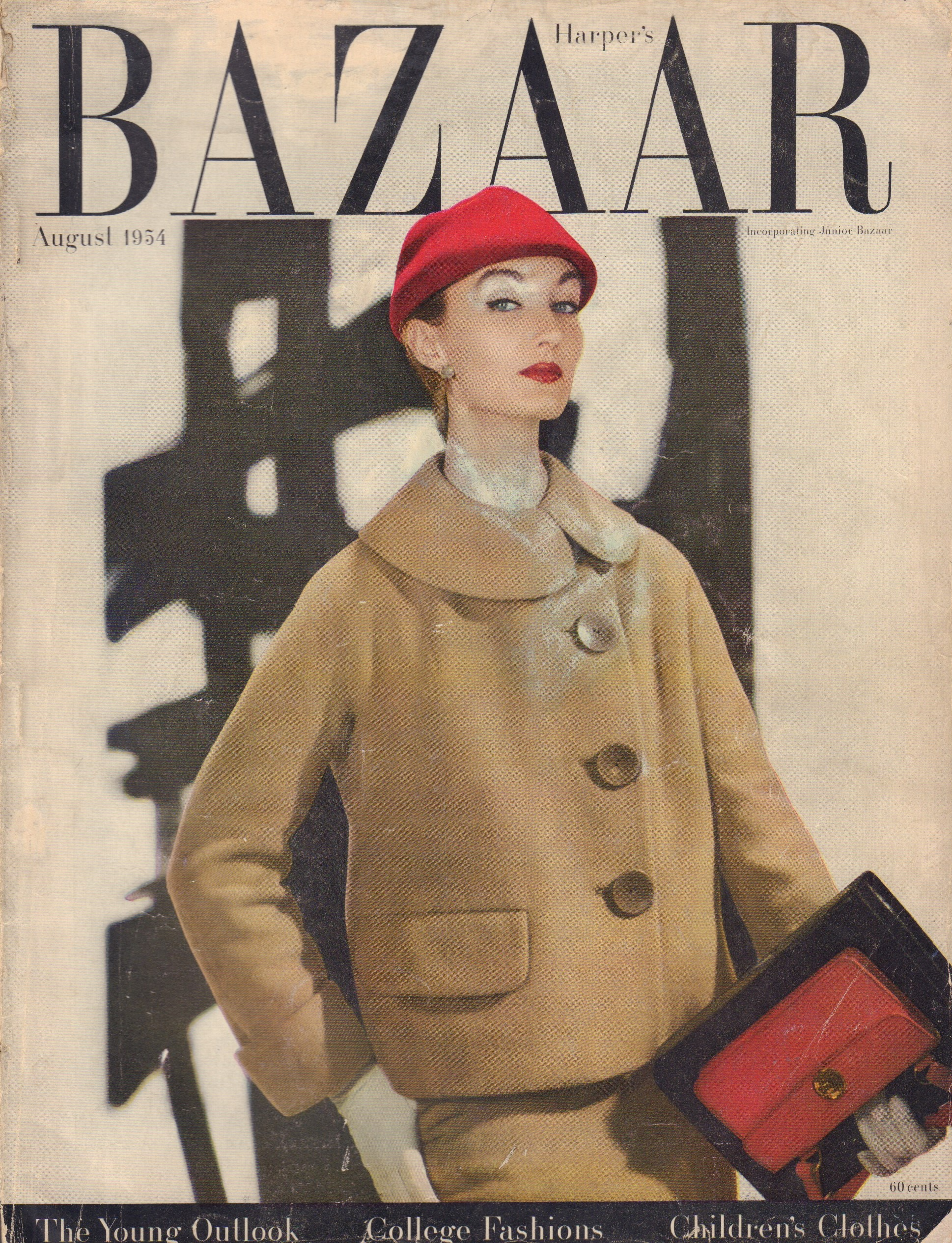 Image for Harper's Bazaar August 1954