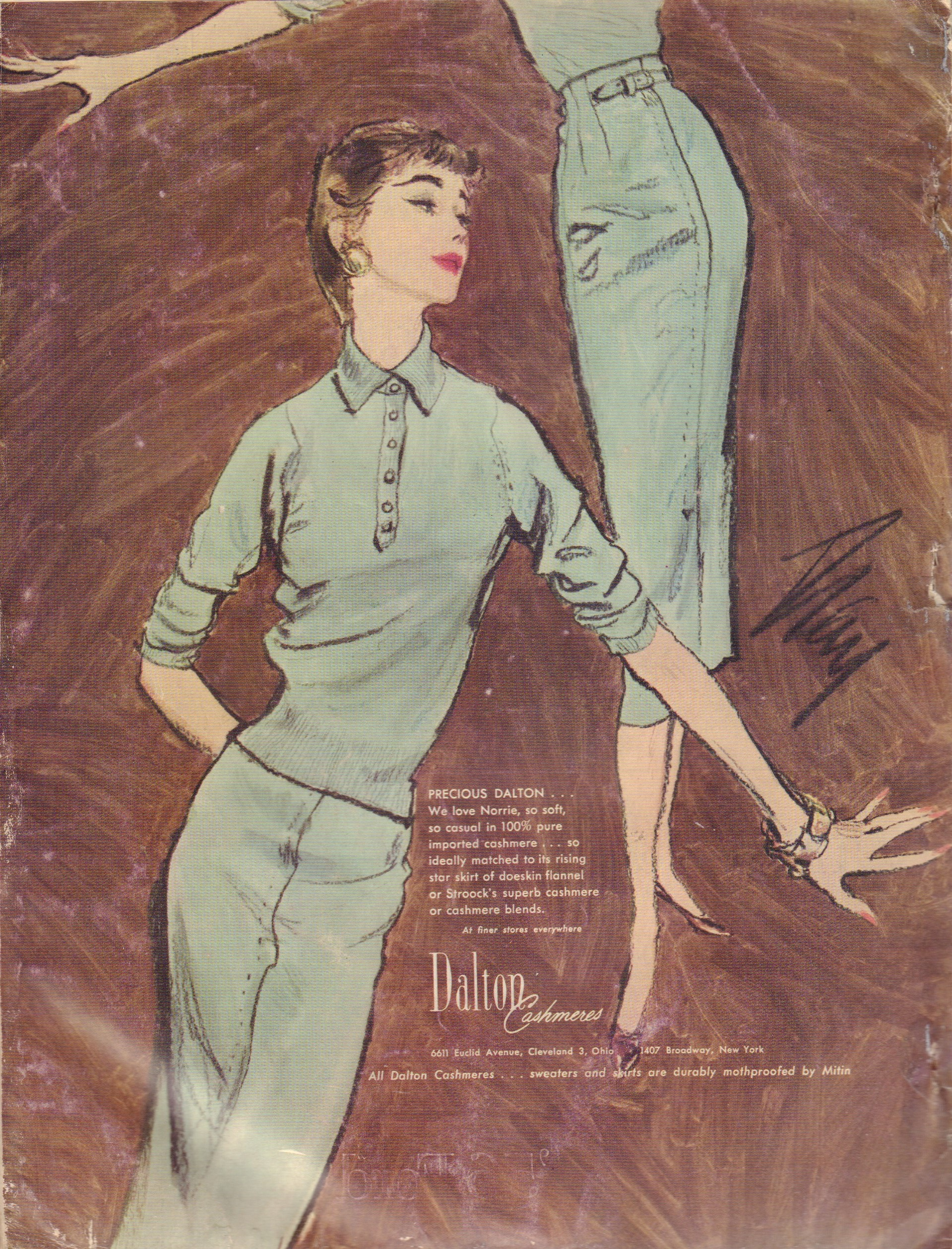 Image for Harper's Bazaar February 1956