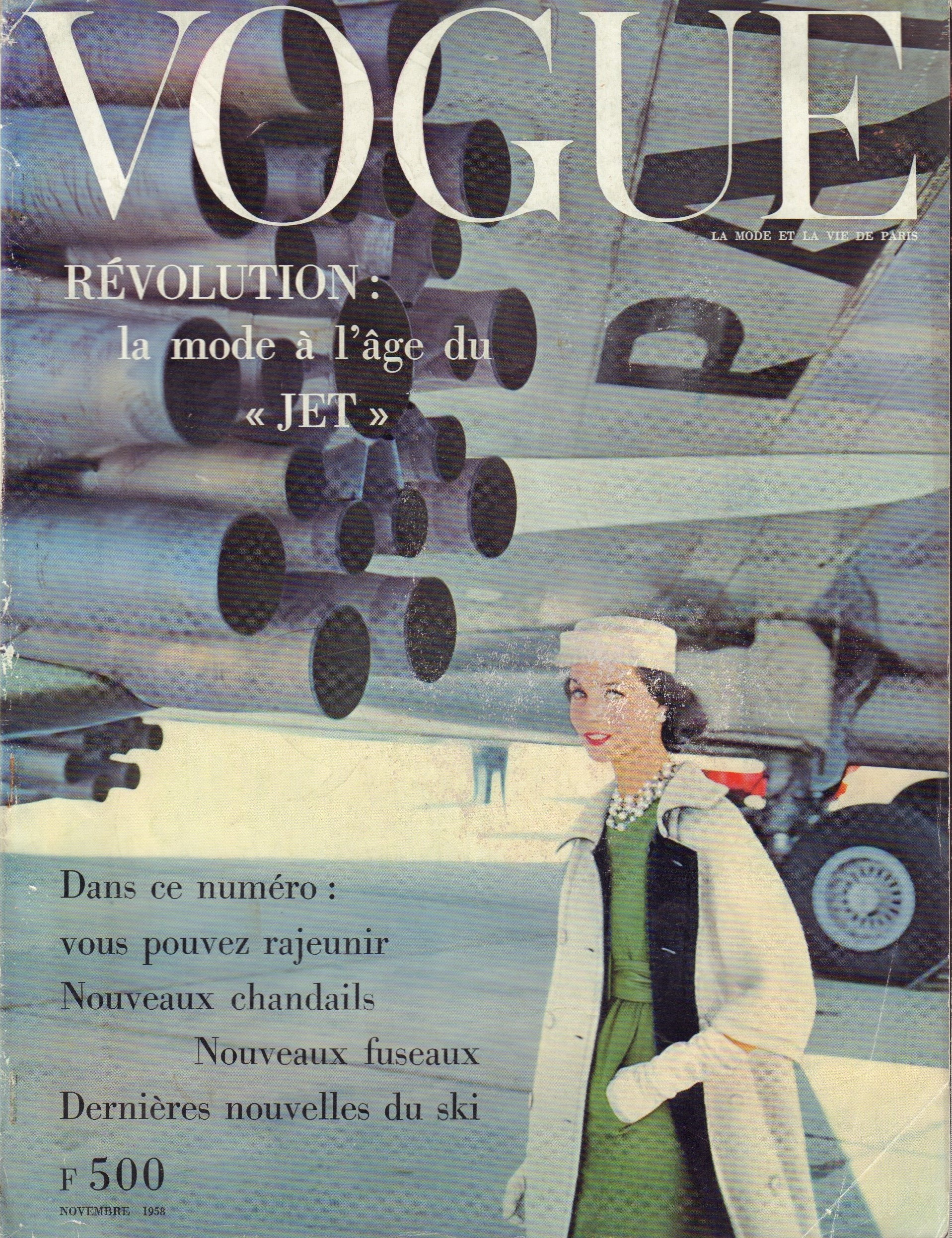 Image for Vogue Magazine, French Edition: November 1958